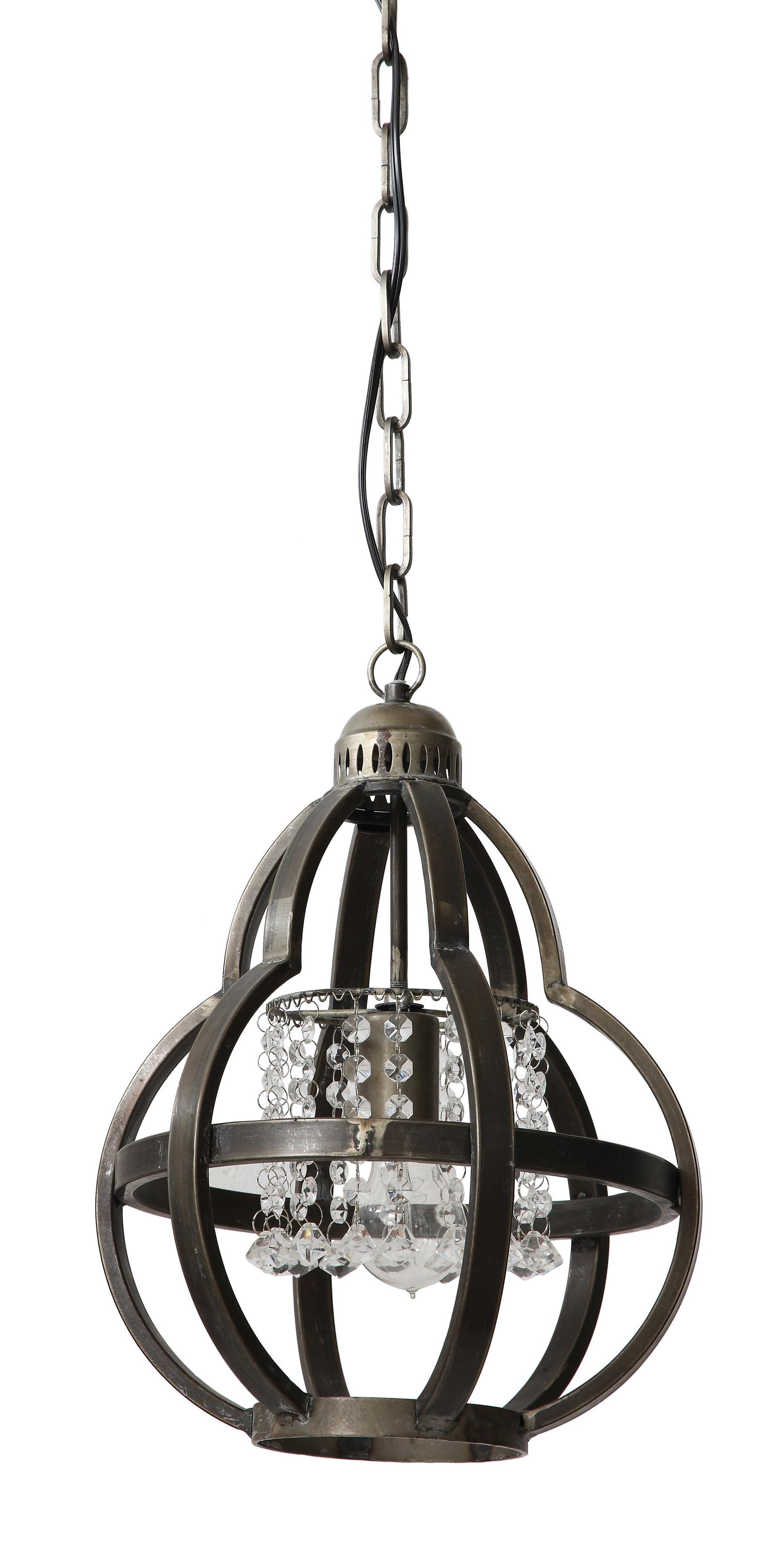 Fashionable Kliebert 1 Light Single Geometric Pendant Pertaining To Irwin 1 Light Single Globe Pendants (View 6 of 25)