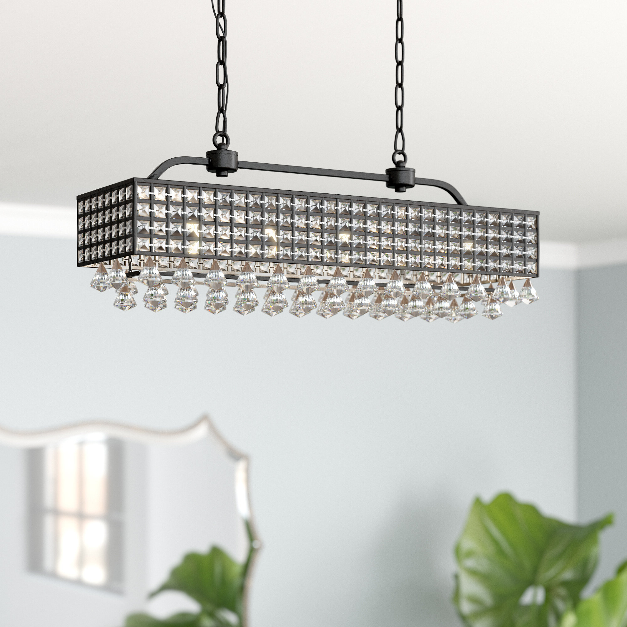 Fashionable Madilynn 5 Light Crystal Chandelier Throughout Verdell 5 Light Crystal Chandeliers (View 12 of 25)