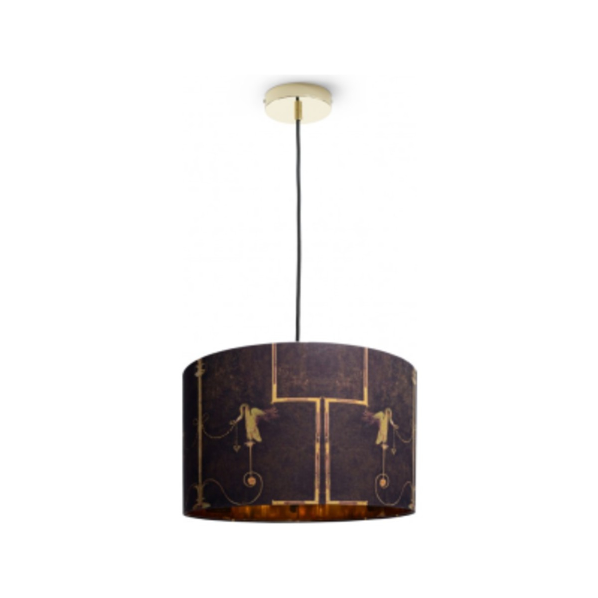 Fashionable Shop The Swan Drum Pendant Light 📎 For Vincent 5 Light Drum Chandeliers (View 8 of 25)