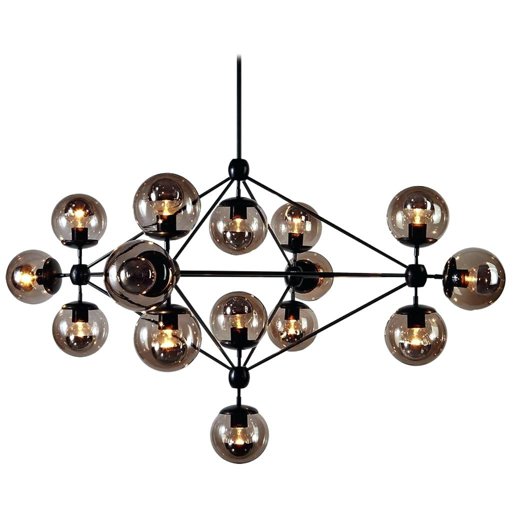 Favorite Alden 6 Light Globe Chandeliers Throughout Black Globe Chandelier – Aftermidnight (View 24 of 25)