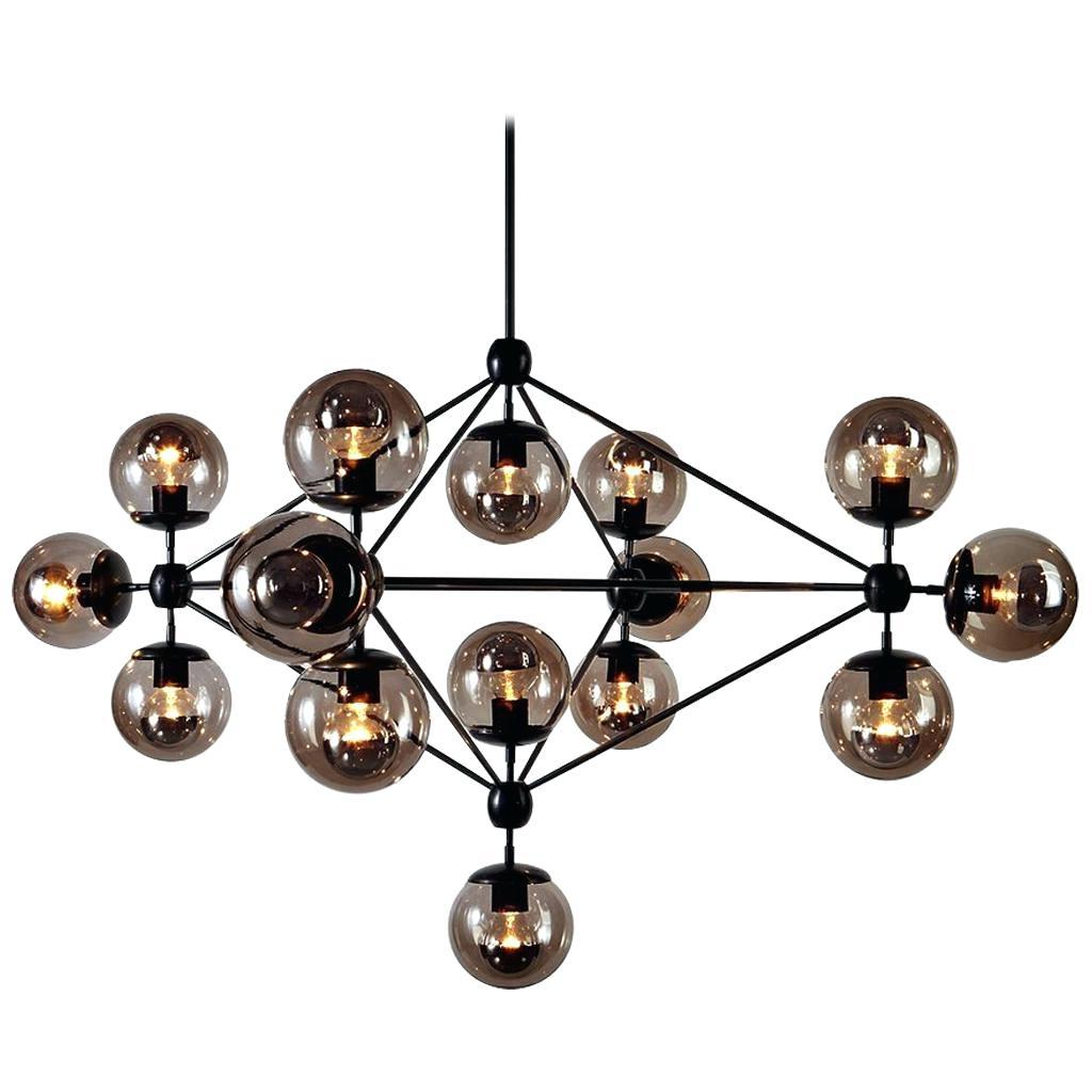 Favorite Alden 6 Light Globe Chandeliers Throughout Black Globe Chandelier – Aftermidnight (View 13 of 25)