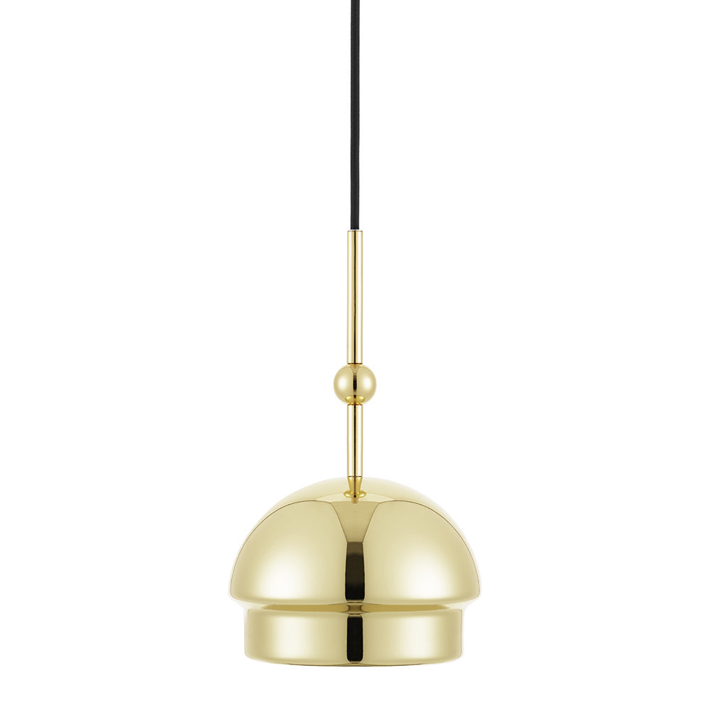 Favorite Amara 2 Light Dome Pendants For Emperor Lamp – Bras – Dome (View 15 of 25)