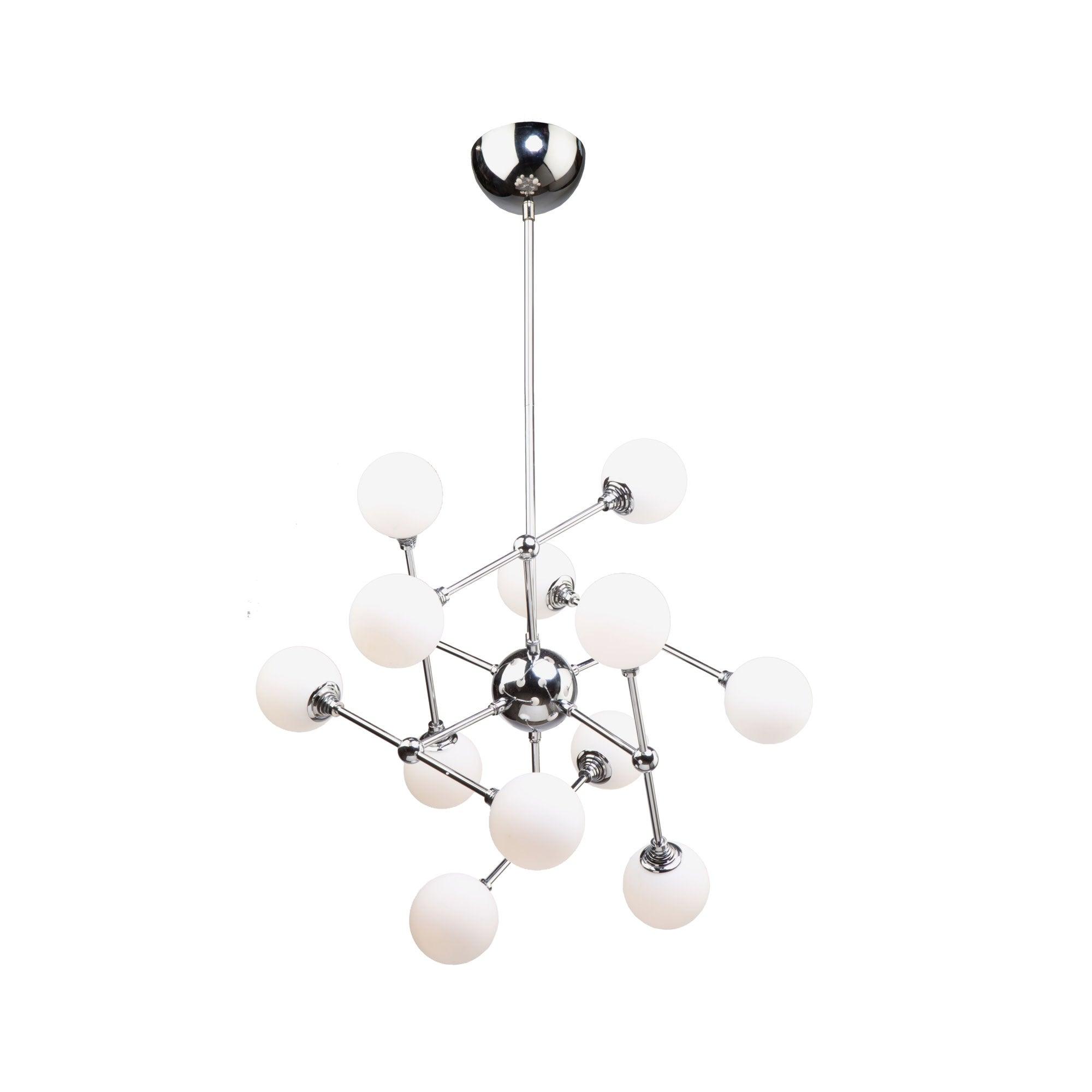 "Favorite Asher 12 Light Sputnik Chandeliers With Artcraft Lighting Ac7562 Luna 12 Light 26"" Wide 3000K Led Abstract Sputnik  Chandelier – (View 14 of 25)"