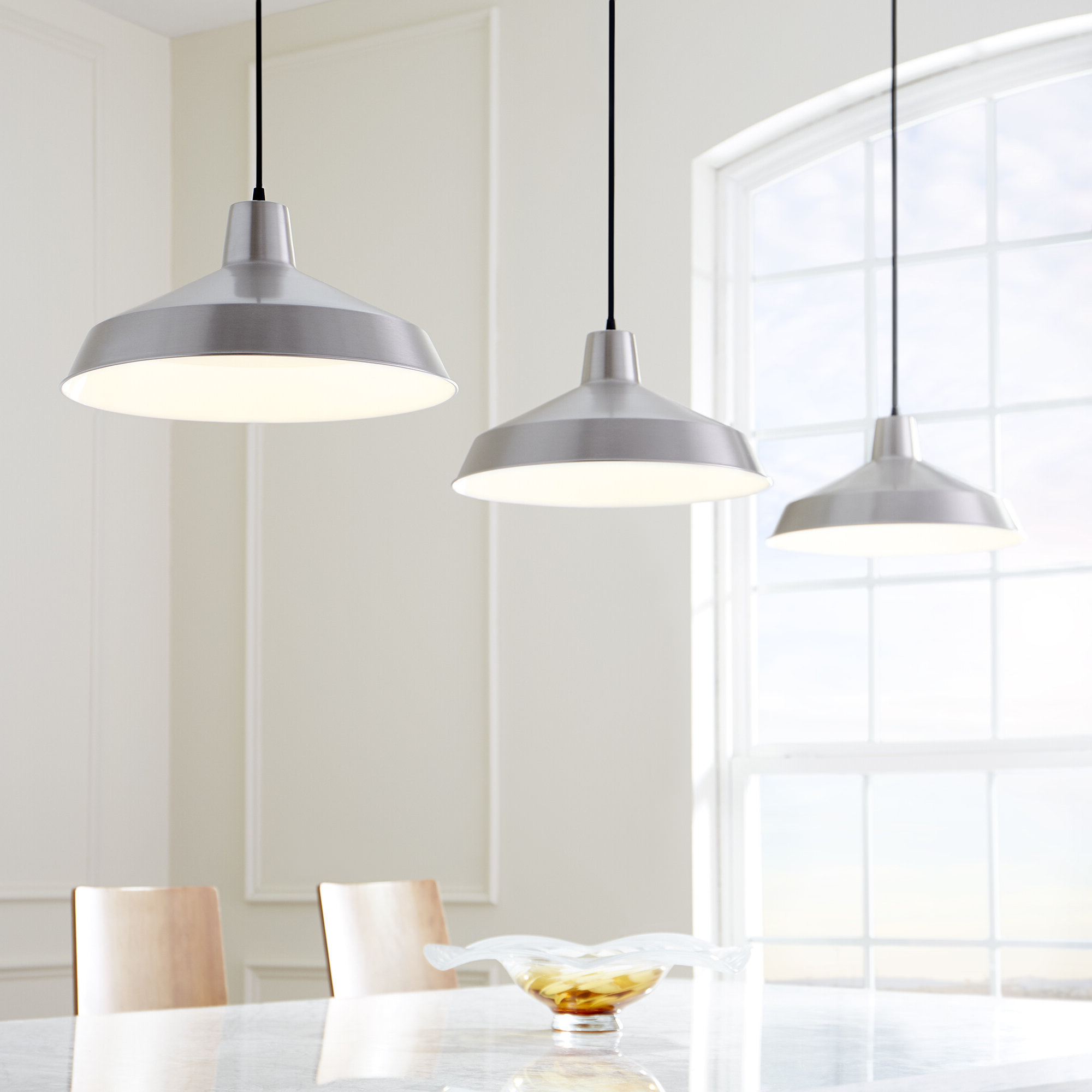 Favorite Mercury Row Conover 1 Light Dome Pendant Intended For Ryker 1 Light Single Dome Pendants (View 10 of 25)