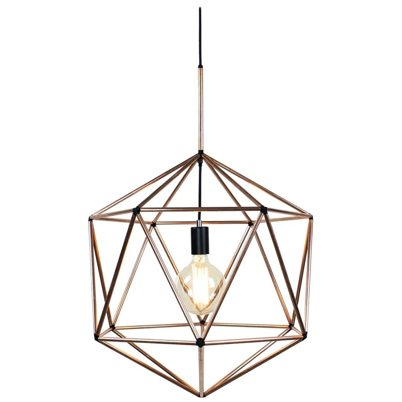 Favorite Nisbet 4 Light Lantern Geometric Pendants In Geometric Pendant Light – Soccerflash (View 8 of 25)