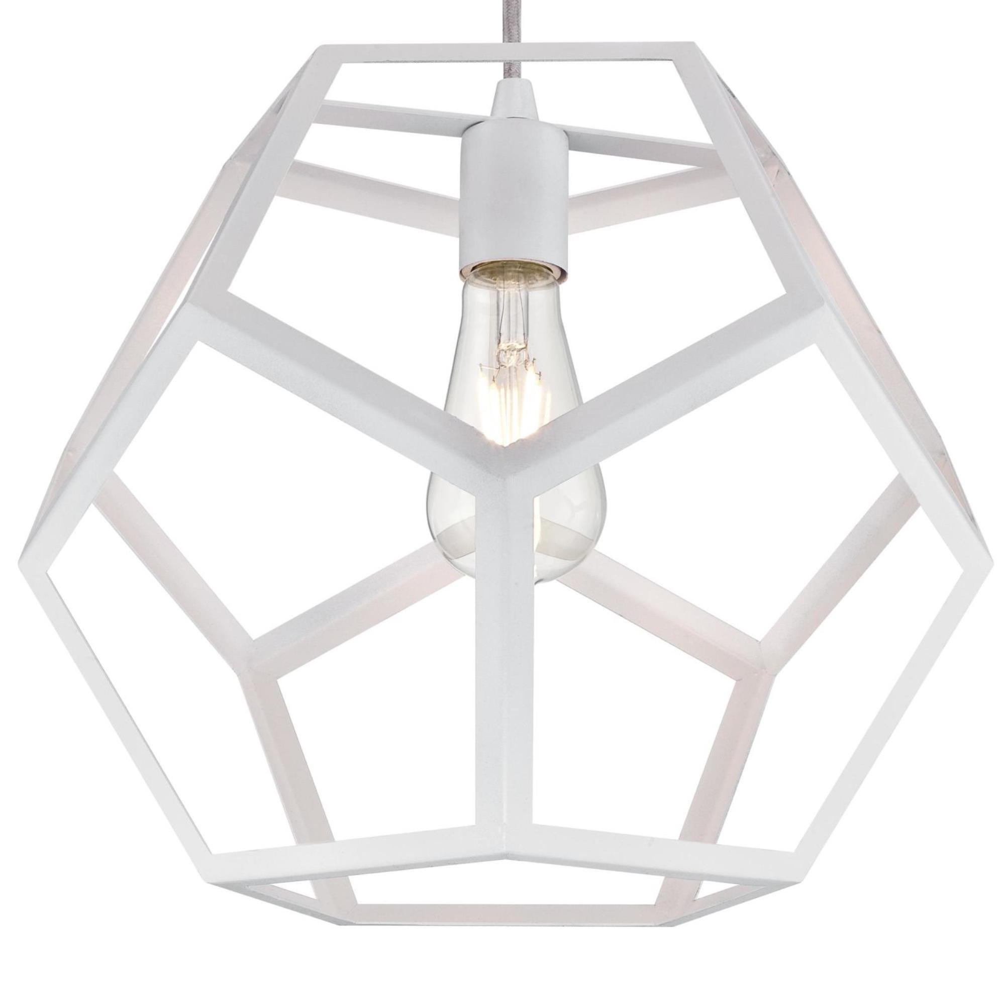 Favorite Trahan 1 Light Geometric Pendant Throughout Rossi Industrial Vintage 1 Light Geometric Pendants (View 6 of 25)