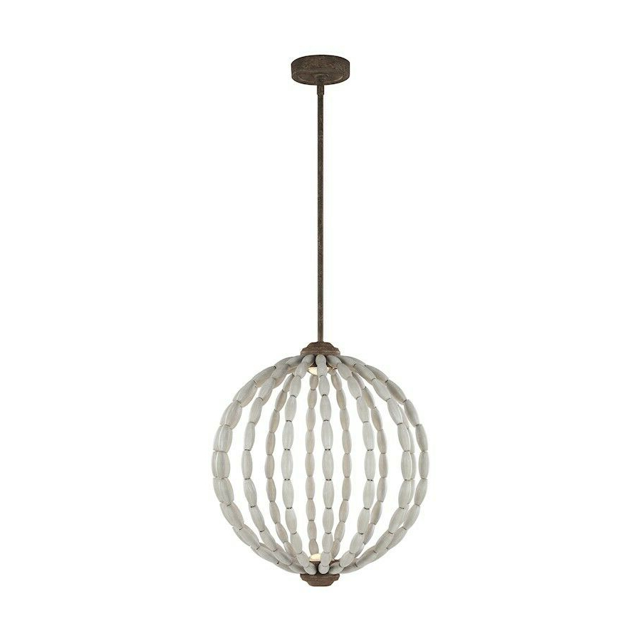 Feiss Orren 2 Light Pendant, Grey/weathered Iron,  (View 11 of 25)