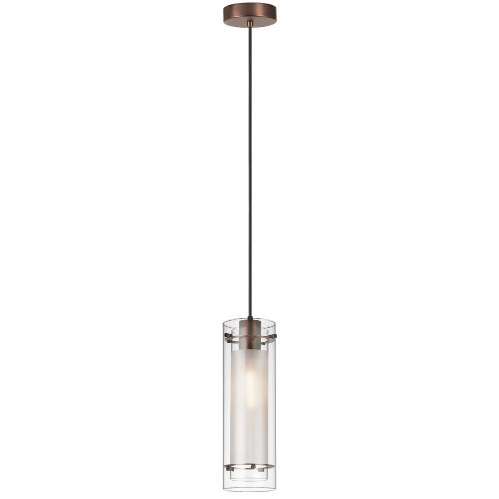 Fennia 1 Light Single Cylinder Pendant In Most Current Helina 1 Light Pendants (View 5 of 25)