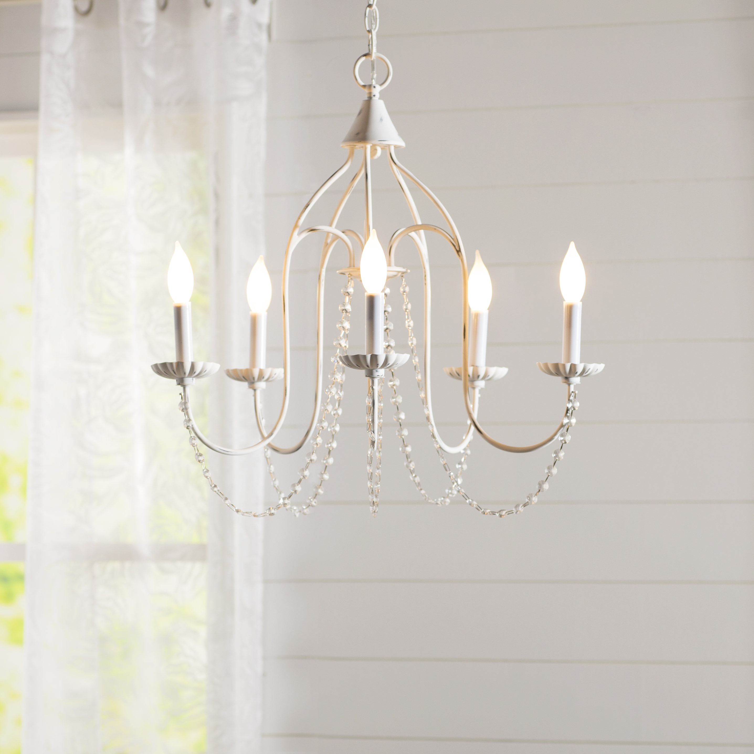 Florentina 5 Light Candle Style Chandelier With Regard To Preferred Shaylee 5 Light Candle Style Chandeliers (View 4 of 25)
