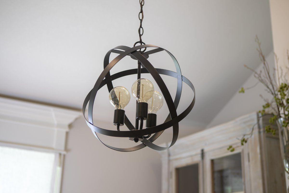 Fordwich 3 Light Globe Chandelier (View 10 of 25)