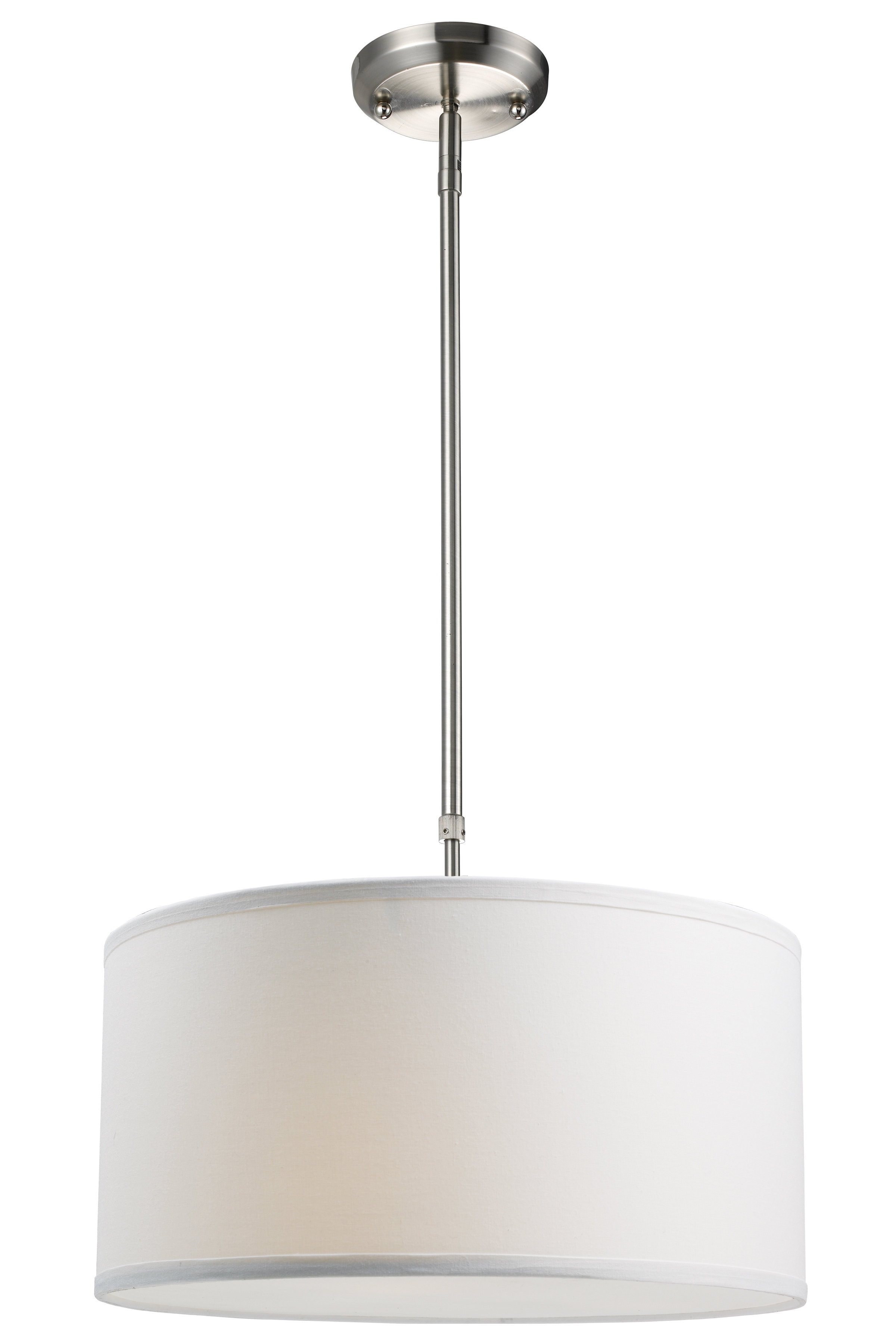 Friedland 3 Light Drum Tiered Pendants Regarding Fashionable Kasey 3 Light Single Drum Pendant (View 5 of 25)