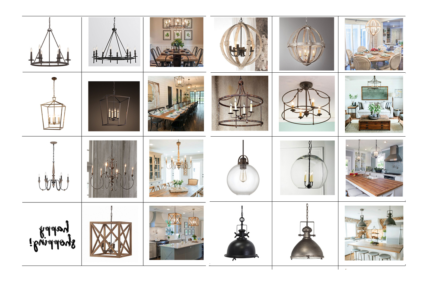 Gaines 5 Light Shaded Chandeliers Intended For Current Favorite Light Fixtures For Fixer Upper Style (View 12 of 25)