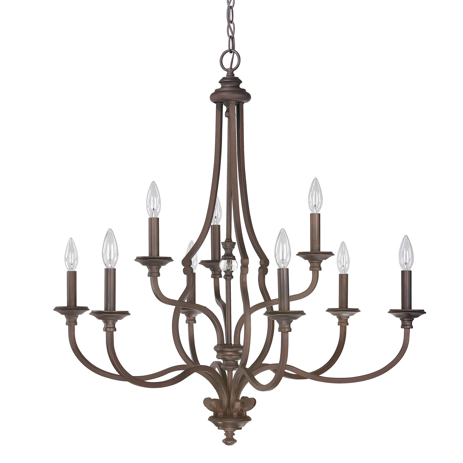Gaines 9 Light Candle Style Chandeliers In Newest Darby Home Co Jaclyn 9 Light Candle Style Chandelier (View 7 of 25)