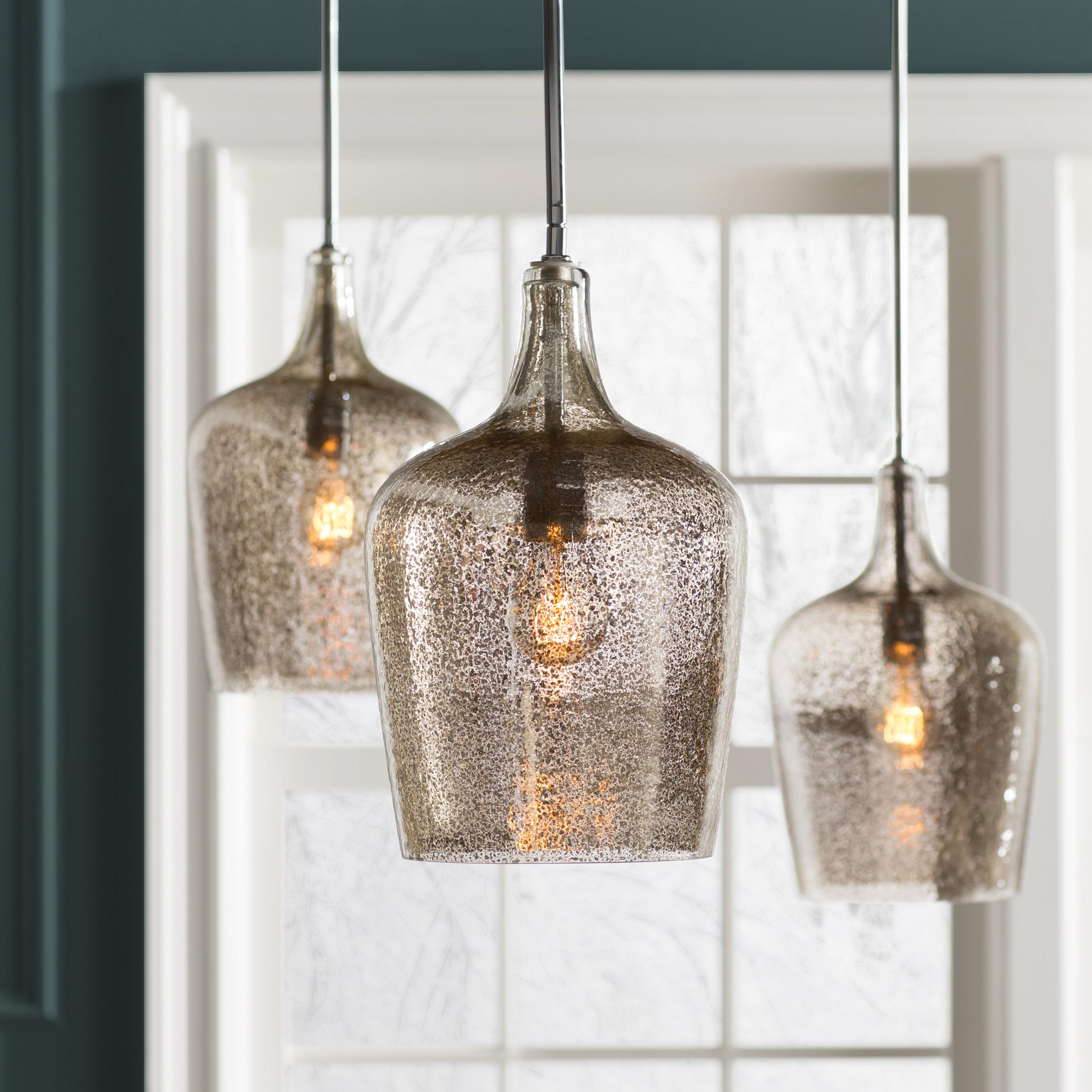 Featured Photo of Giacinta 1 Light Single Bell Pendants