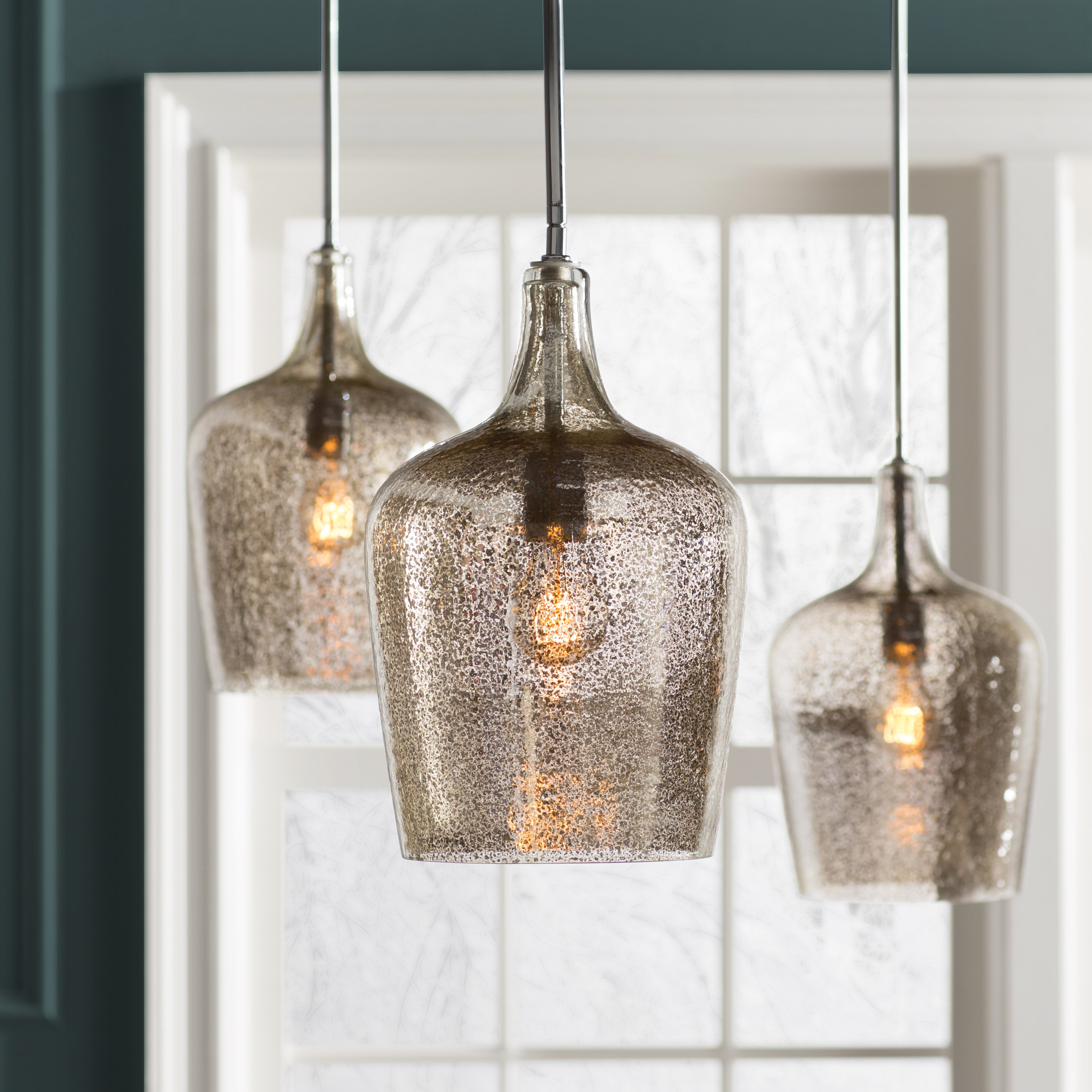 Giacinta 1 Light Single Bell Pendant Throughout Favorite Zachery 5 Light Led Cluster Pendants (View 8 of 25)