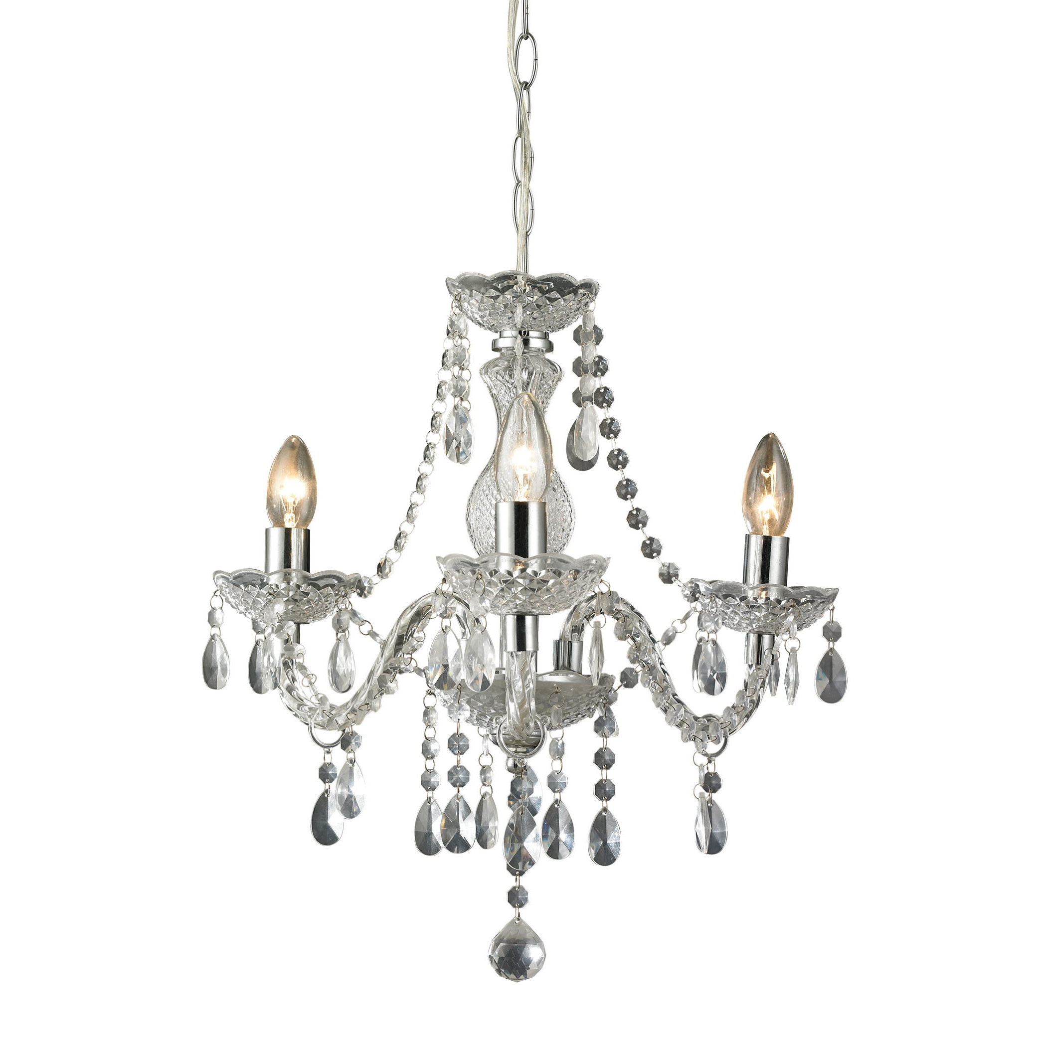 Gilson 3 Light Candle Style Chandelier With Regard To Preferred Aldora 4 Light Candle Style Chandeliers (View 17 of 25)