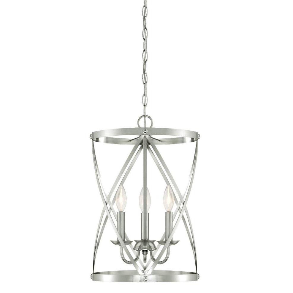 Gingerich 3 Light Lantern Pendant With Most Recently Released Van Horne 3 Light Single Teardrop Pendants (View 8 of 25)