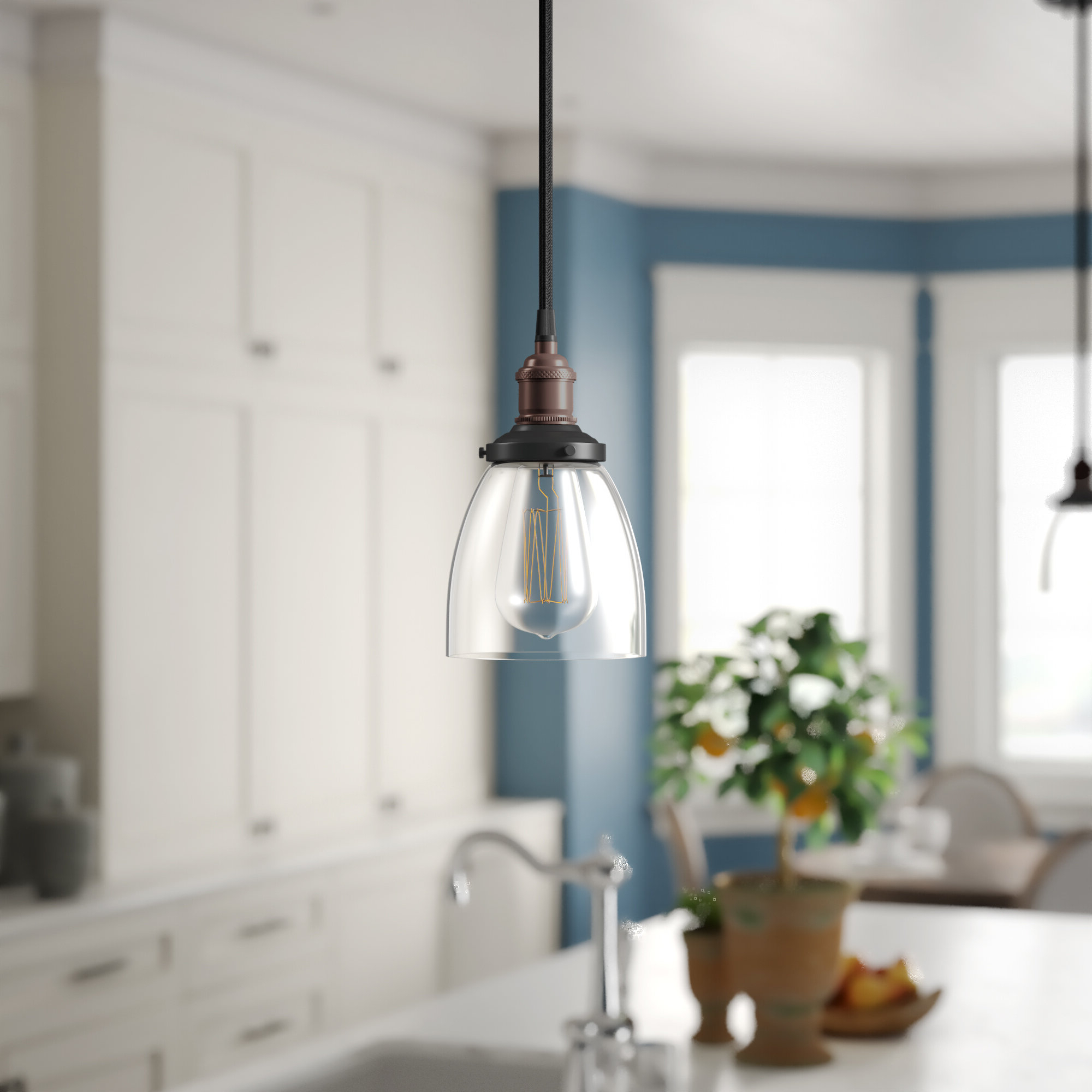 Goldie 1 Light Single Bell Pendants Throughout 2019 Sandy Springs 1 Light Single Bell Pendant (View 13 of 25)