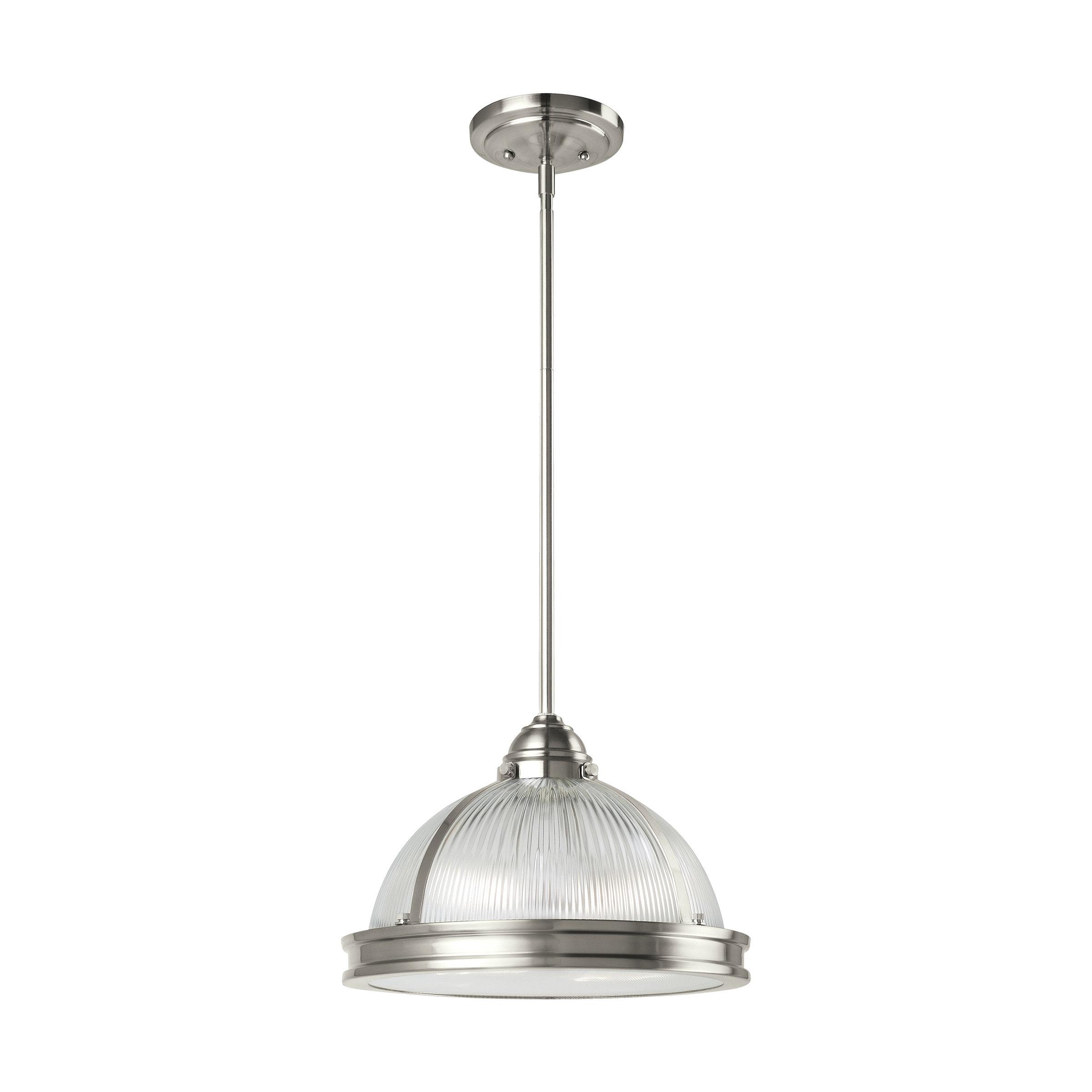 Featured Photo of Granville 2 Light Single Dome Pendants