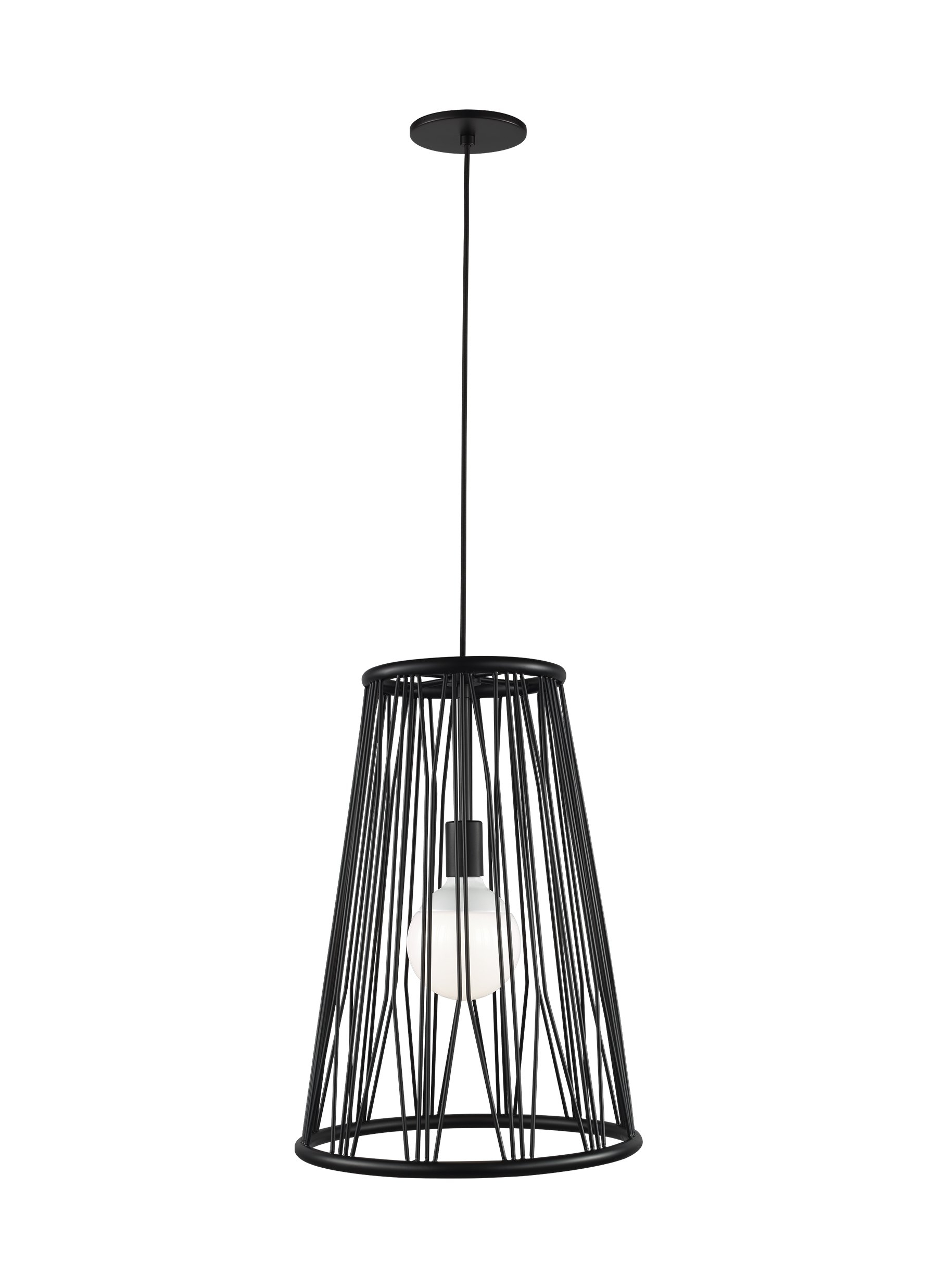 Grullon 1 Light Cone Pendant With Trendy Grullon Scroll 1 Light Single Bell Pendants (View 16 of 25)