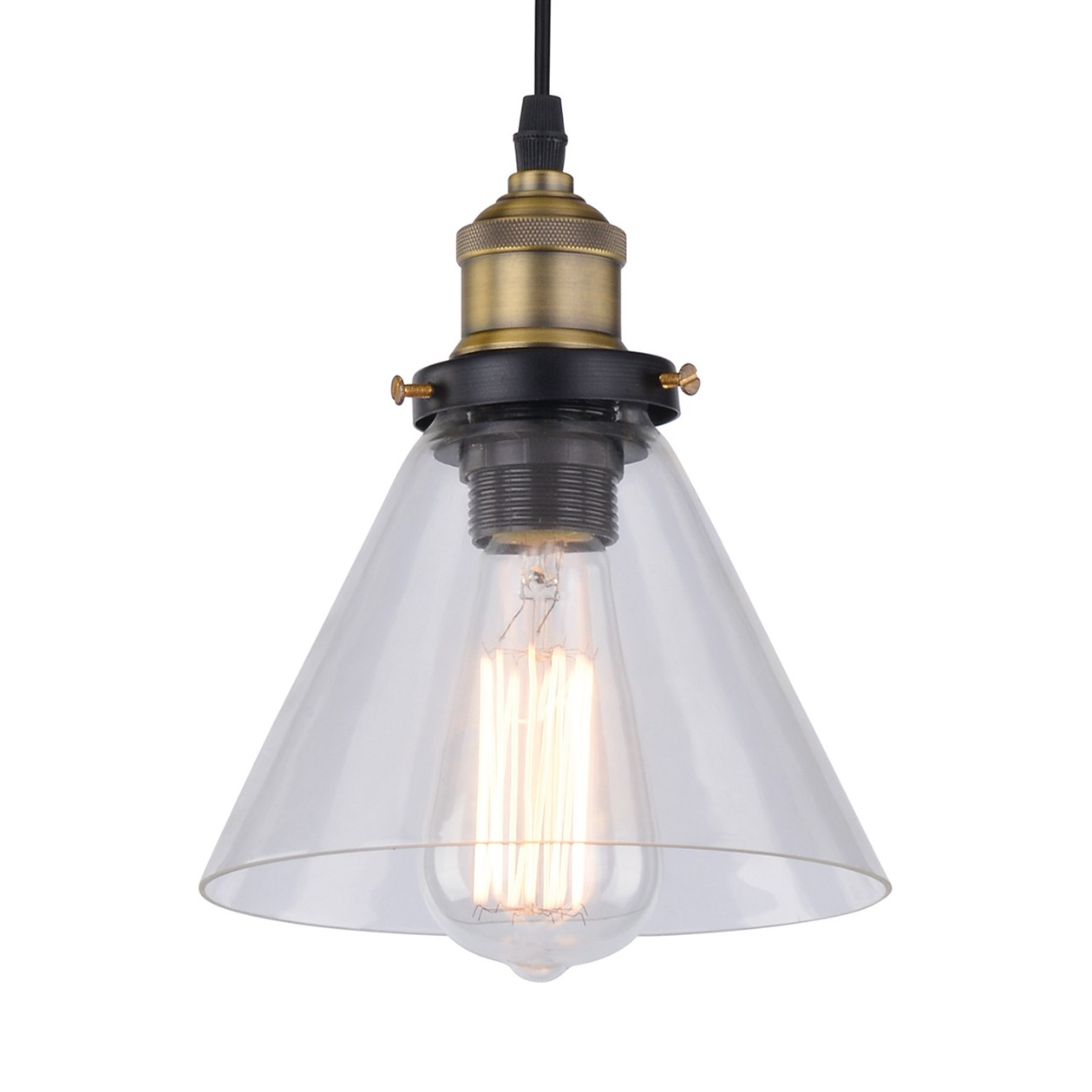 Guro 1 Light Cone Pendants In Fashionable Britop Conrad Cone Ceiling Pendant Light (View 7 of 25)