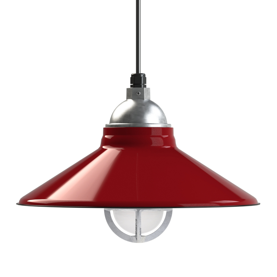 Guro 1 Light Cone Pendants In Favorite The Cleveland Vintage Industrial Barn Pendant (View 22 of 25)