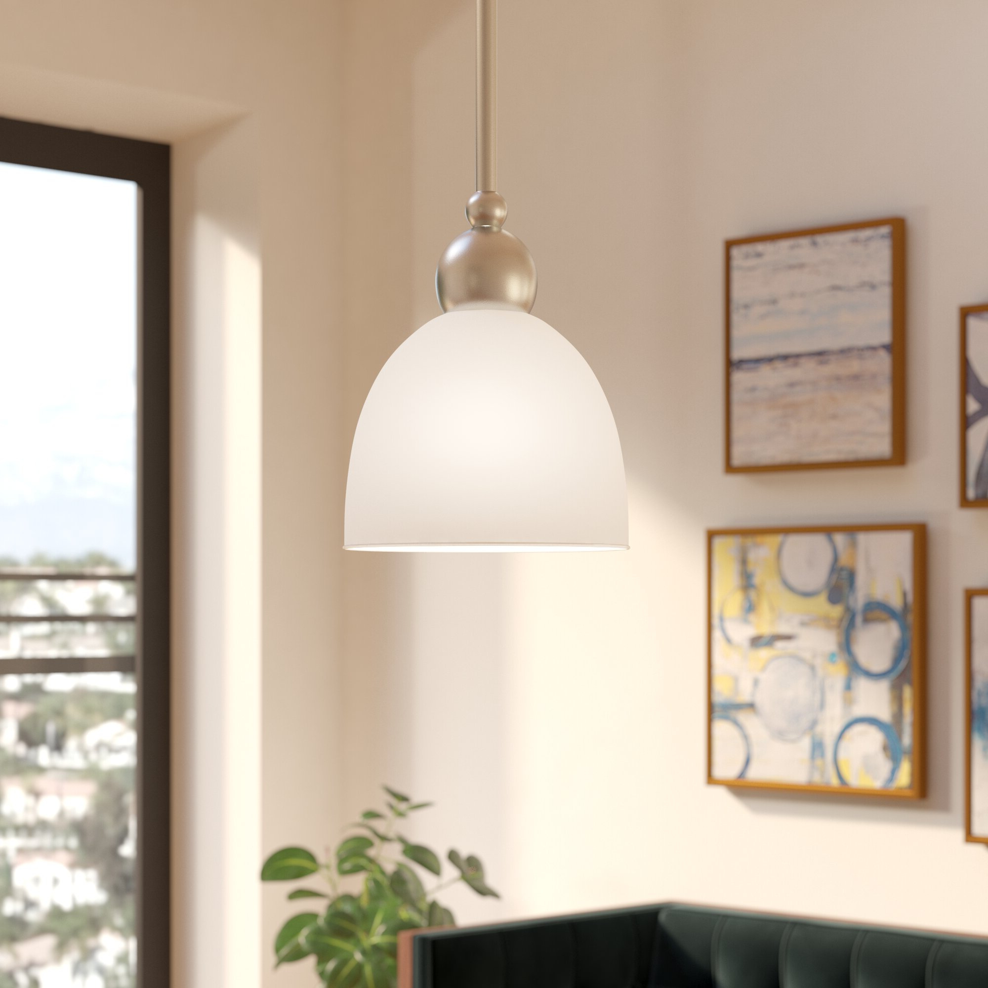 Guro 1 Light Cone Pendants Throughout Fashionable Latitude Run Terrance 1 Light Cone Pendant (View 3 of 25)