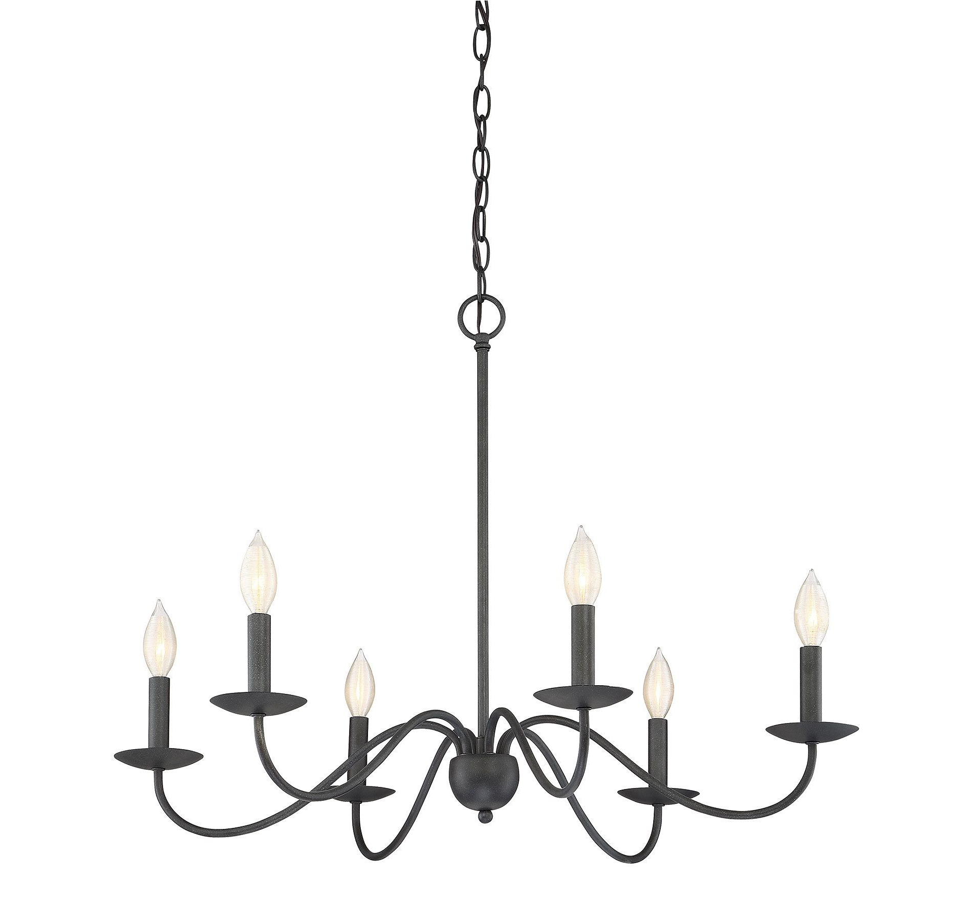 Hamza 6 Light Candle Style Chandeliers Intended For Favorite Perseus 6 Light Candle Style Chandelier (Gallery 9 of 25)