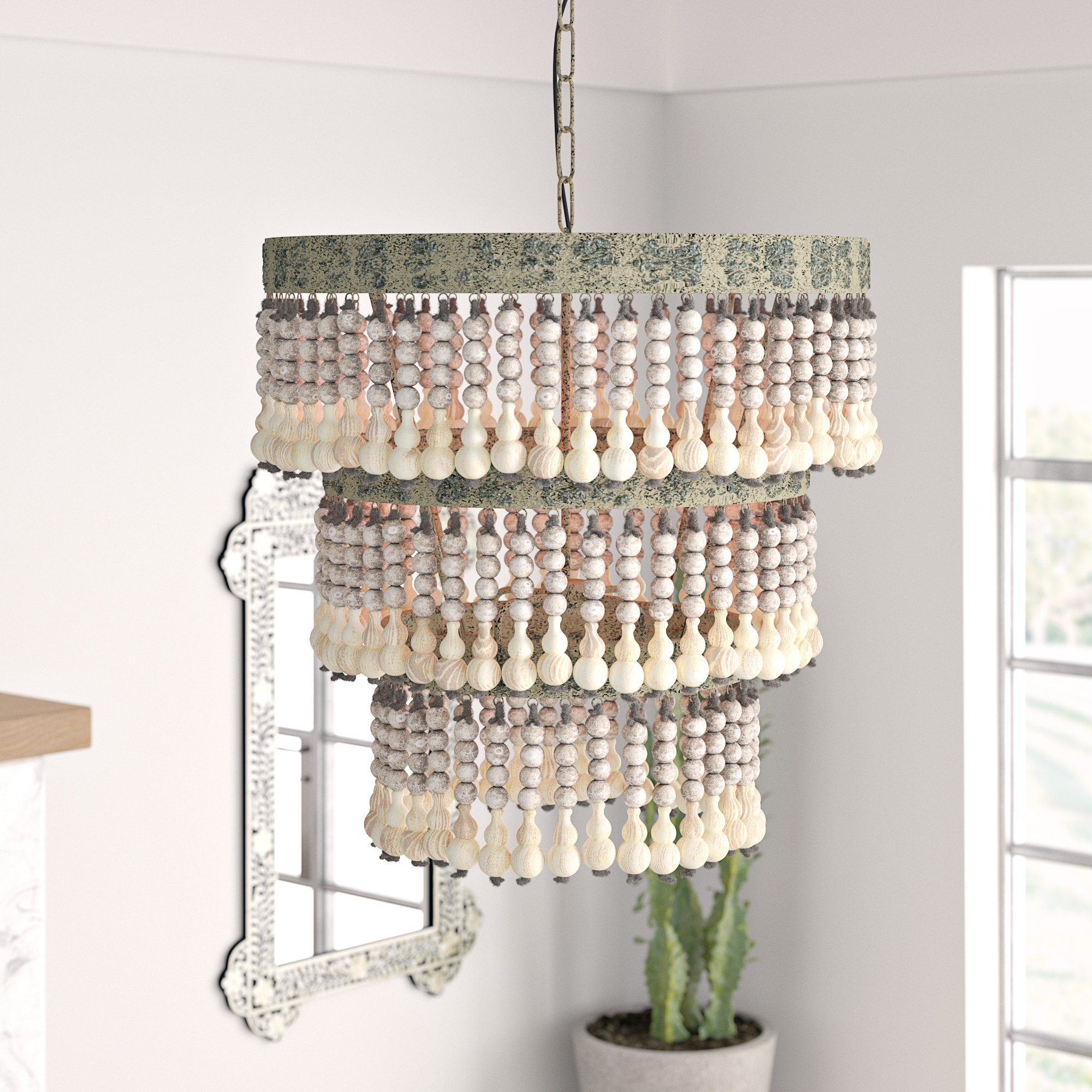 Hatfield 3 Light Novelty Chandeliers Throughout Well Liked Higden 3 Light Drum Chandelier (Gallery 12 of 25)