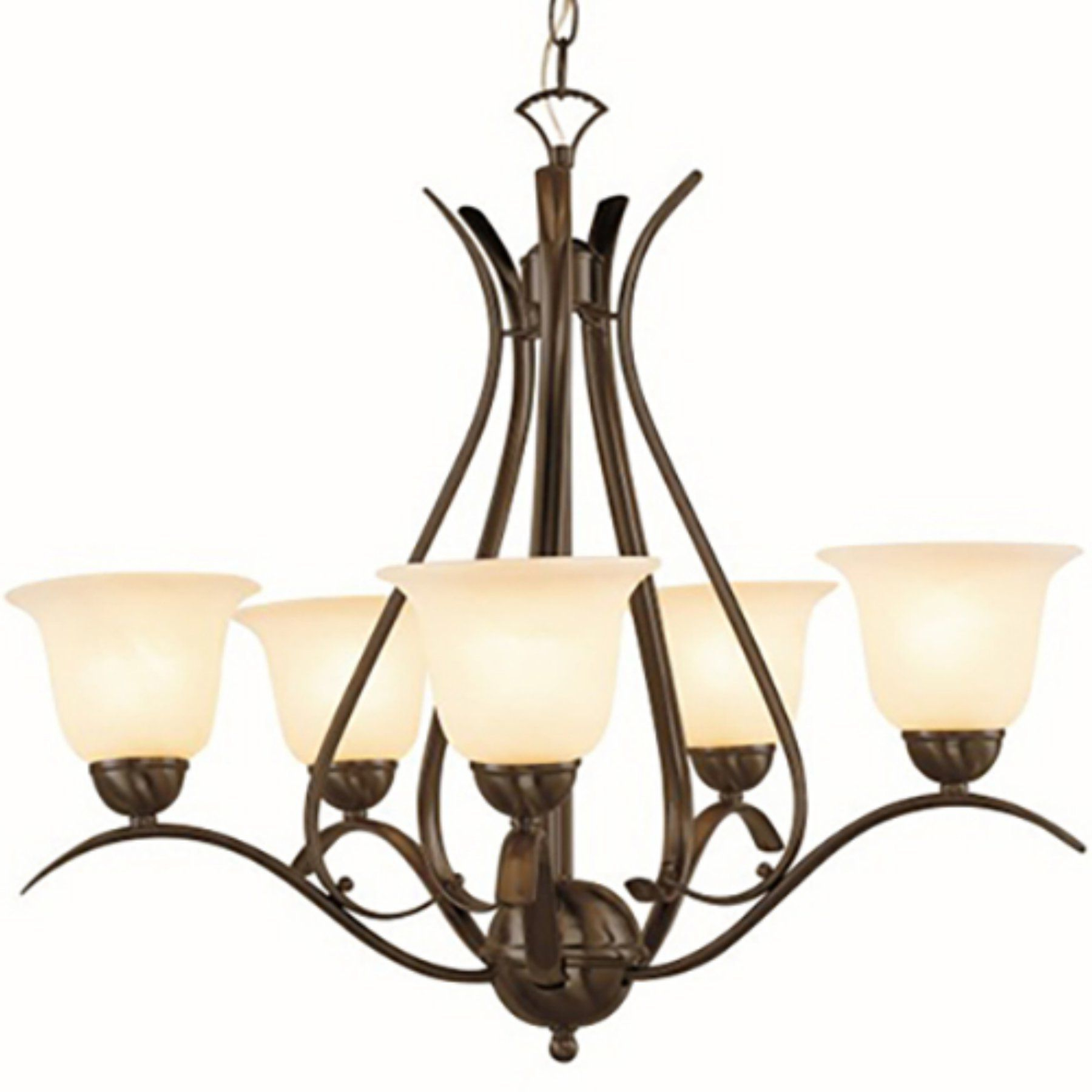 Hayden 5 Light Shaded Chandeliers Throughout Most Recently Released Trans Globe Lighting Aspen Pl 9285 Chandelier – Pl 9285 Rob (Gallery 21 of 25)