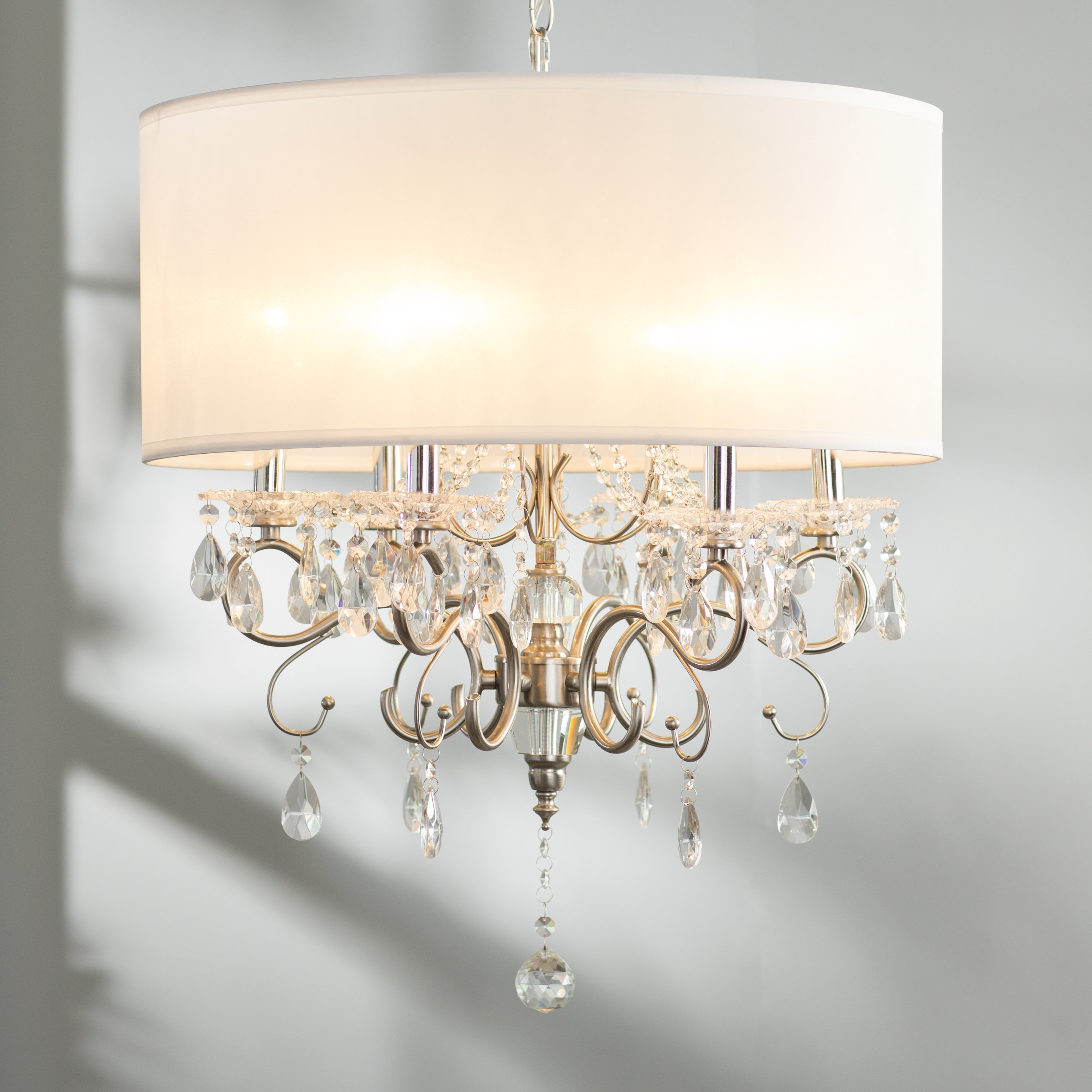 Honiton 6 Light Chandelier Intended For Popular Abel 5 Light Drum Chandeliers (Gallery 21 of 25)
