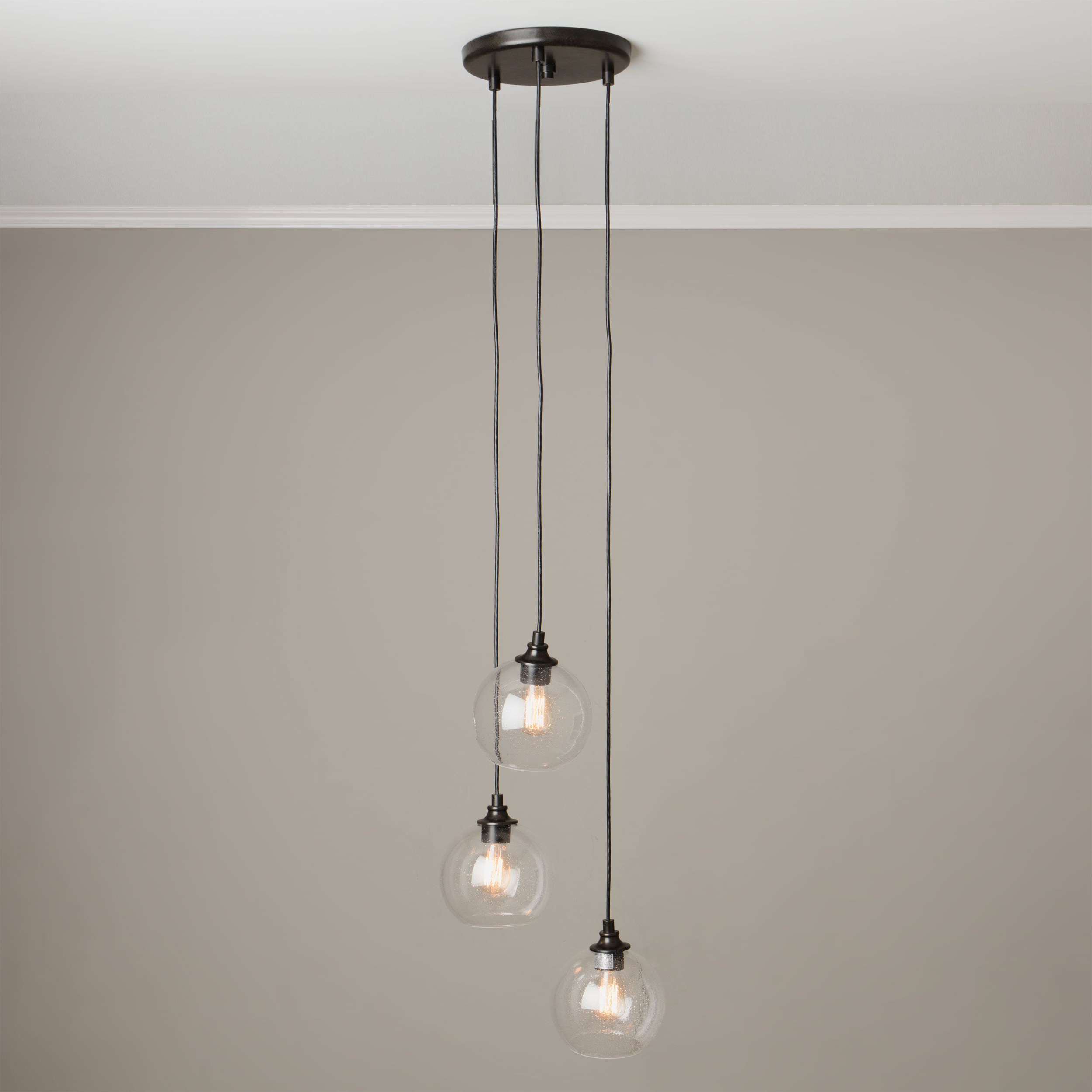 House Inside Most Recently Released Zachery 5 Light Led Cluster Pendants (Gallery 7 of 25)
