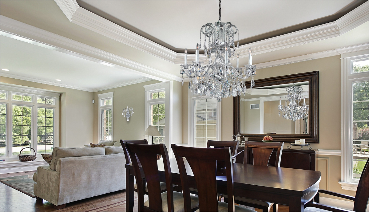 How To Clean Your Crystal Chandelier – Glow® Lighting With Favorite Clea 3 Light Crystal Chandeliers (View 25 of 25)