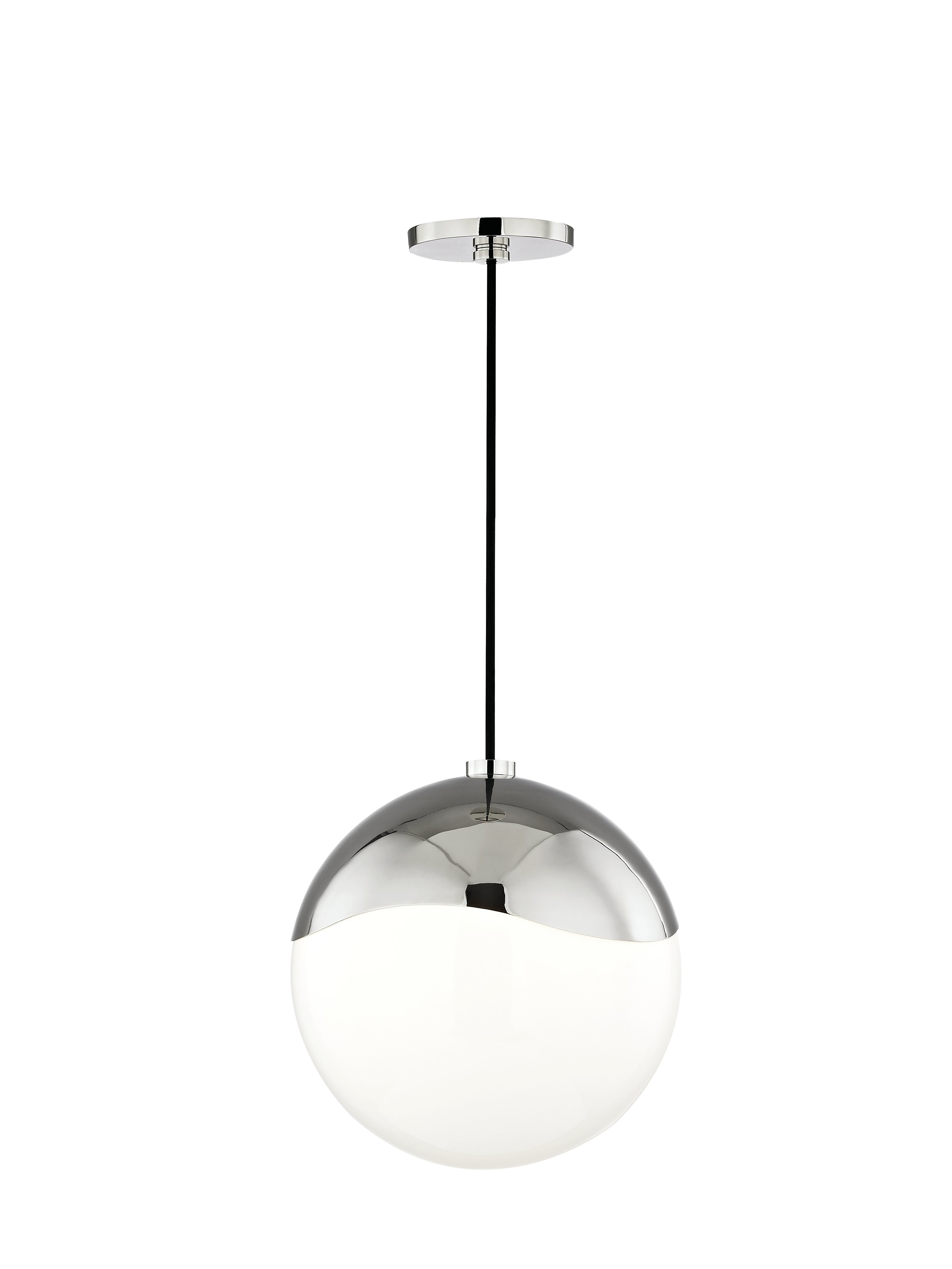 Hunter 1-Light Globe Pendant inside Widely used Bautista 1-Light Single Globe Pendants