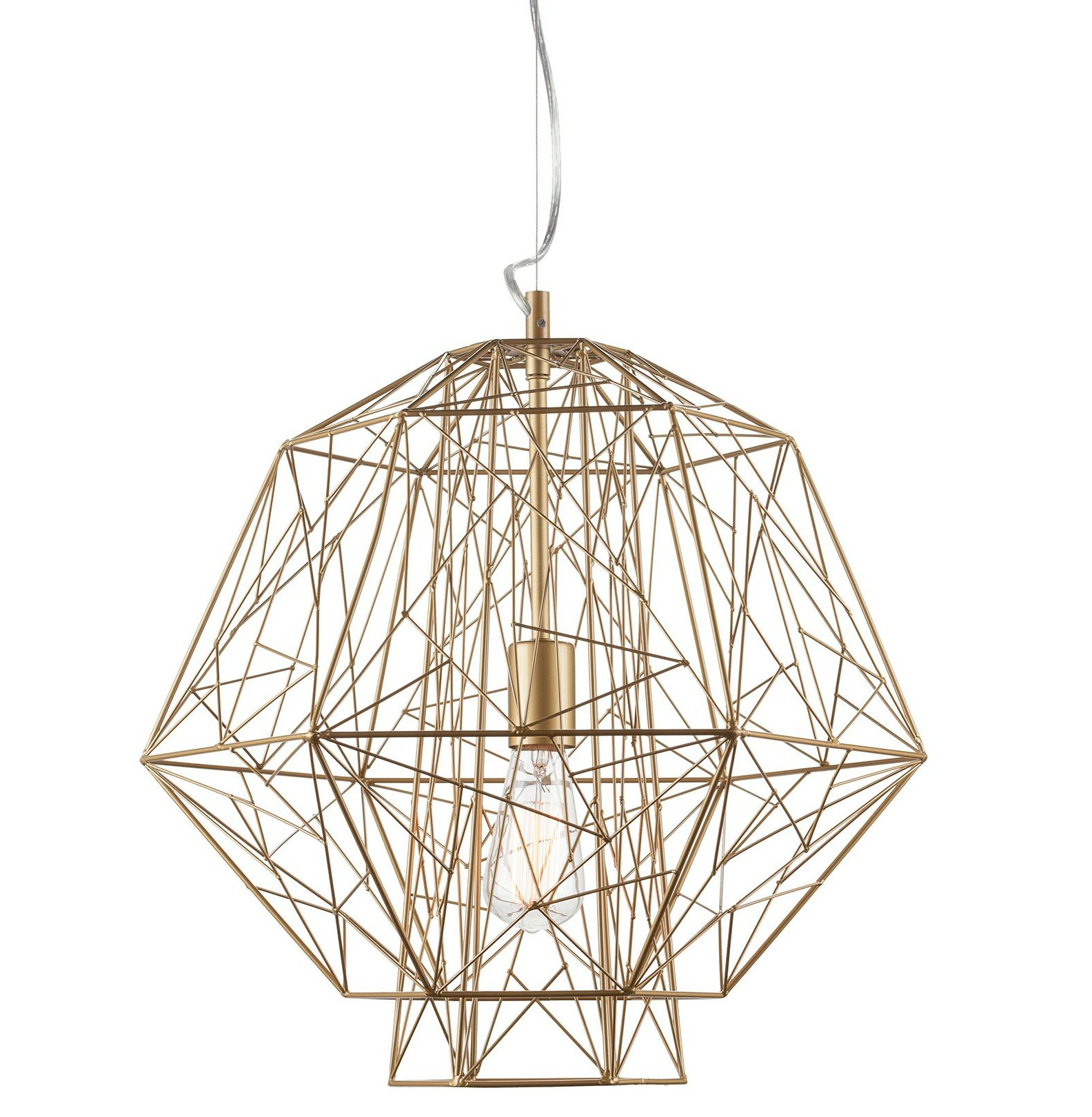 Hydetown 1 Light Single Geometric Pendants Throughout Recent Epstein 1 Light Geometric Pendant (View 12 of 25)