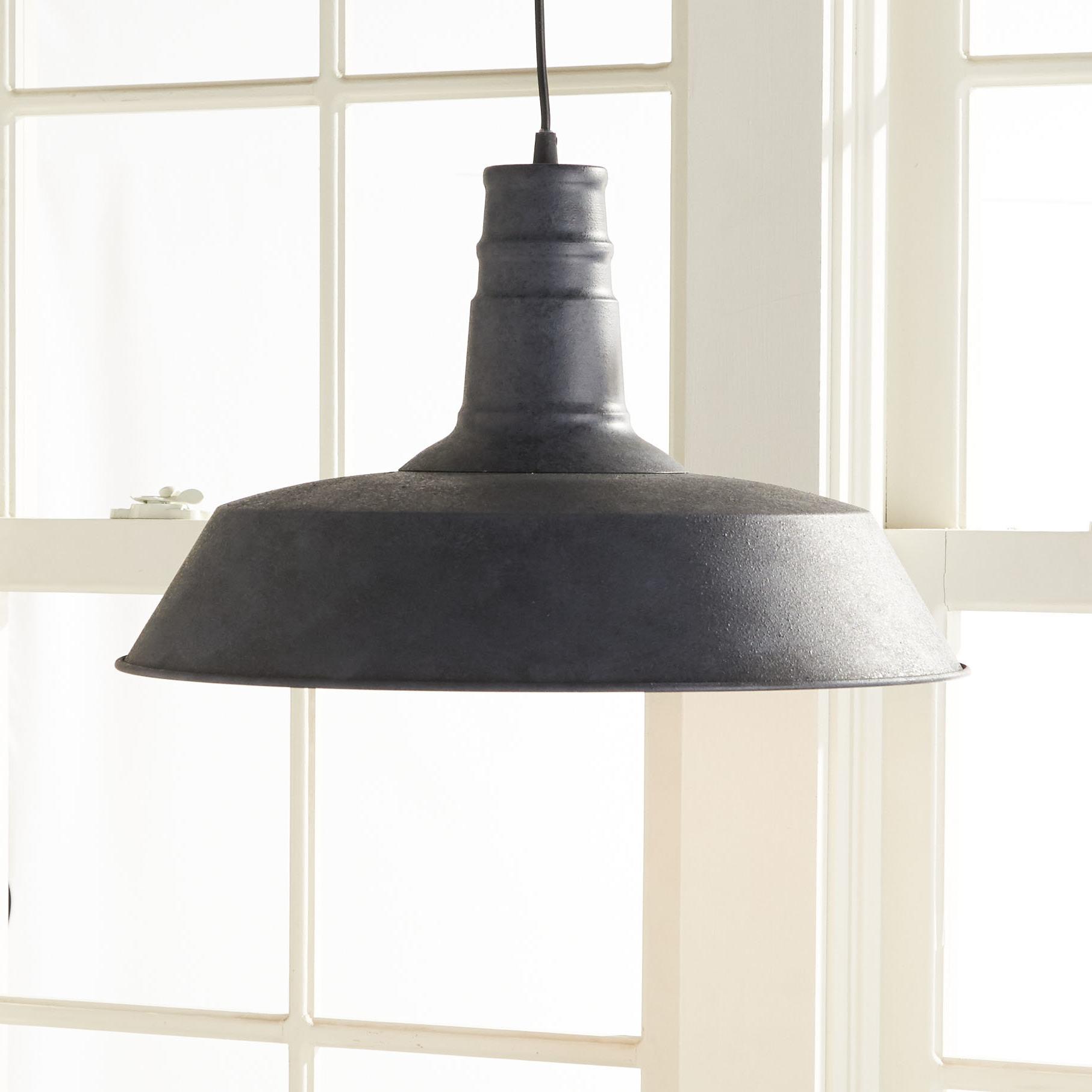 Ilgaz 1 Light Single Dome Pendant With Newest Abordale 1 Light Single Dome Pendants (View 13 of 25)
