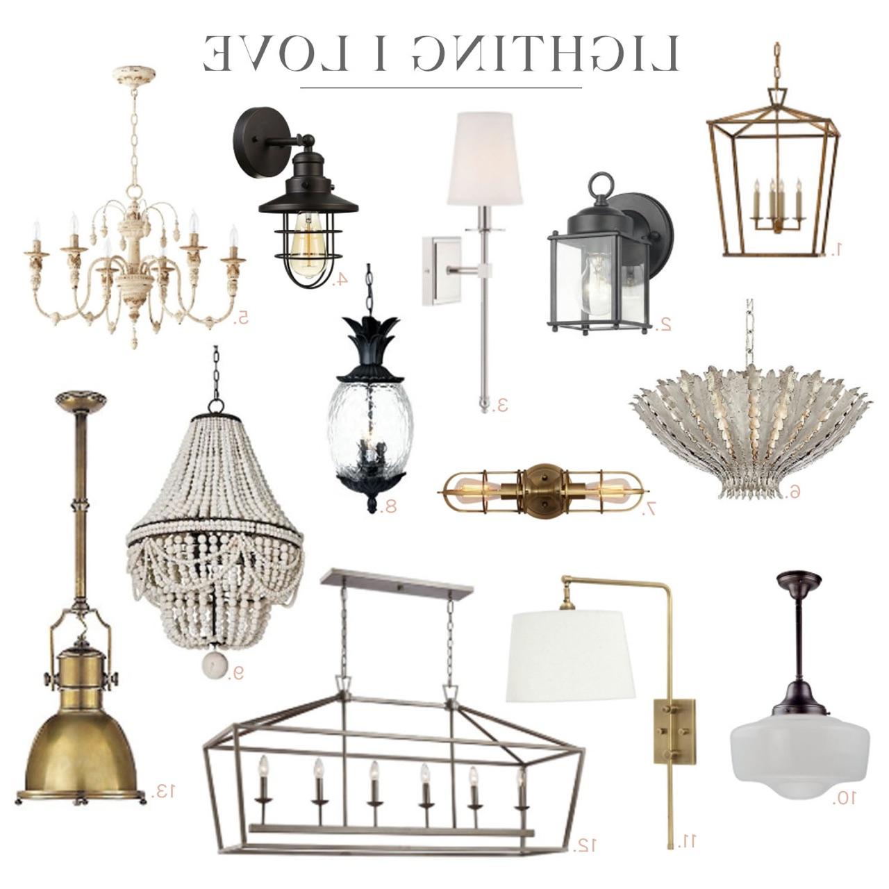 In My Home: Lighting I Love Regarding Current Carmen 6 Light Kitchen Island Linear Pendants (Gallery 18 of 25)