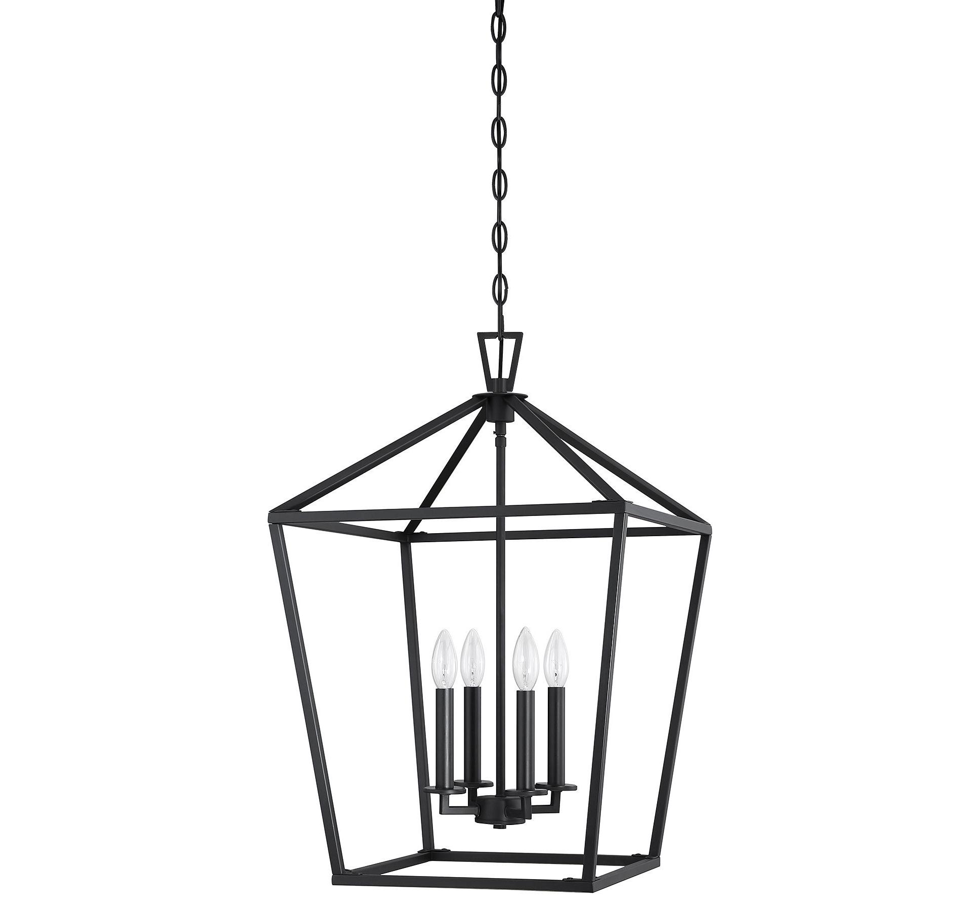 Israel 4 Light Lantern Chandelier Throughout Popular Varnum 4 Light Lantern Pendants (View 10 of 25)