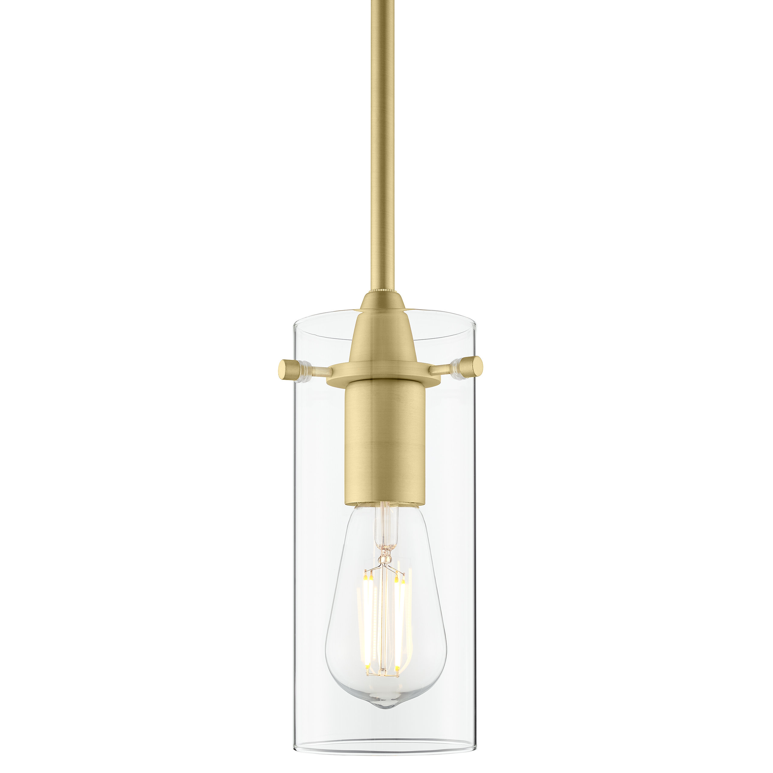 Ivy Bronx Angelina 1 Light Cylinder Pendant With Regard To Popular Jayce 1 Light Cylinder Pendants (View 6 of 25)