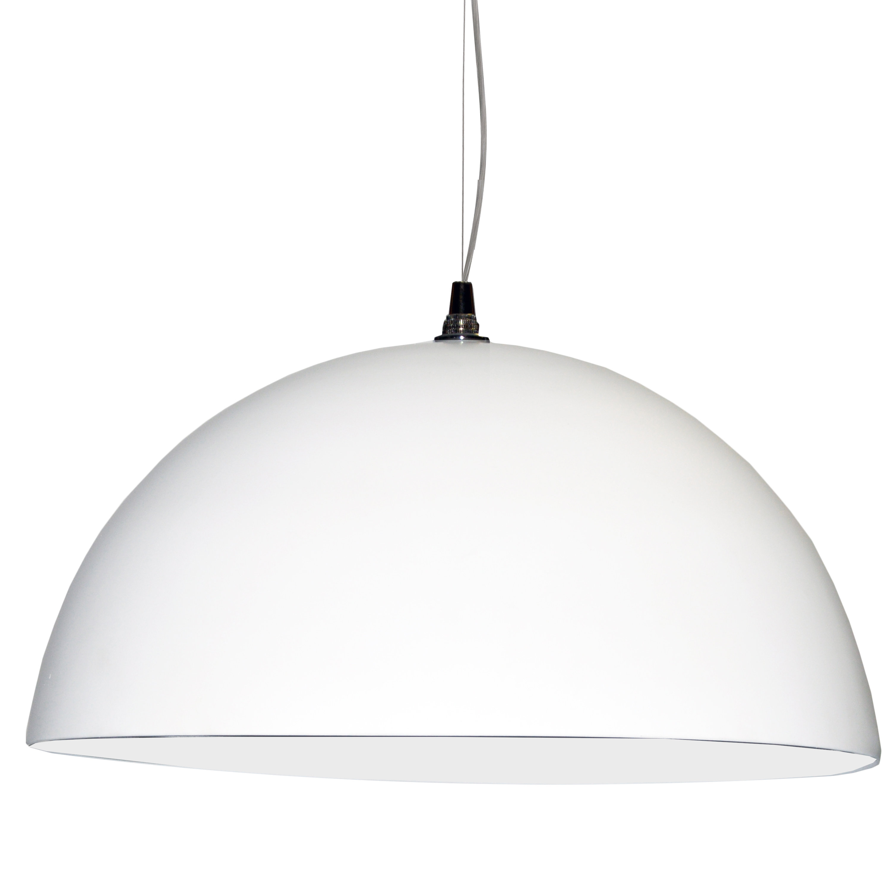 Ivy Bronx Oklee 3 Light Dome Pendant For Famous Ryker 1 Light Single Dome Pendants (View 7 of 25)