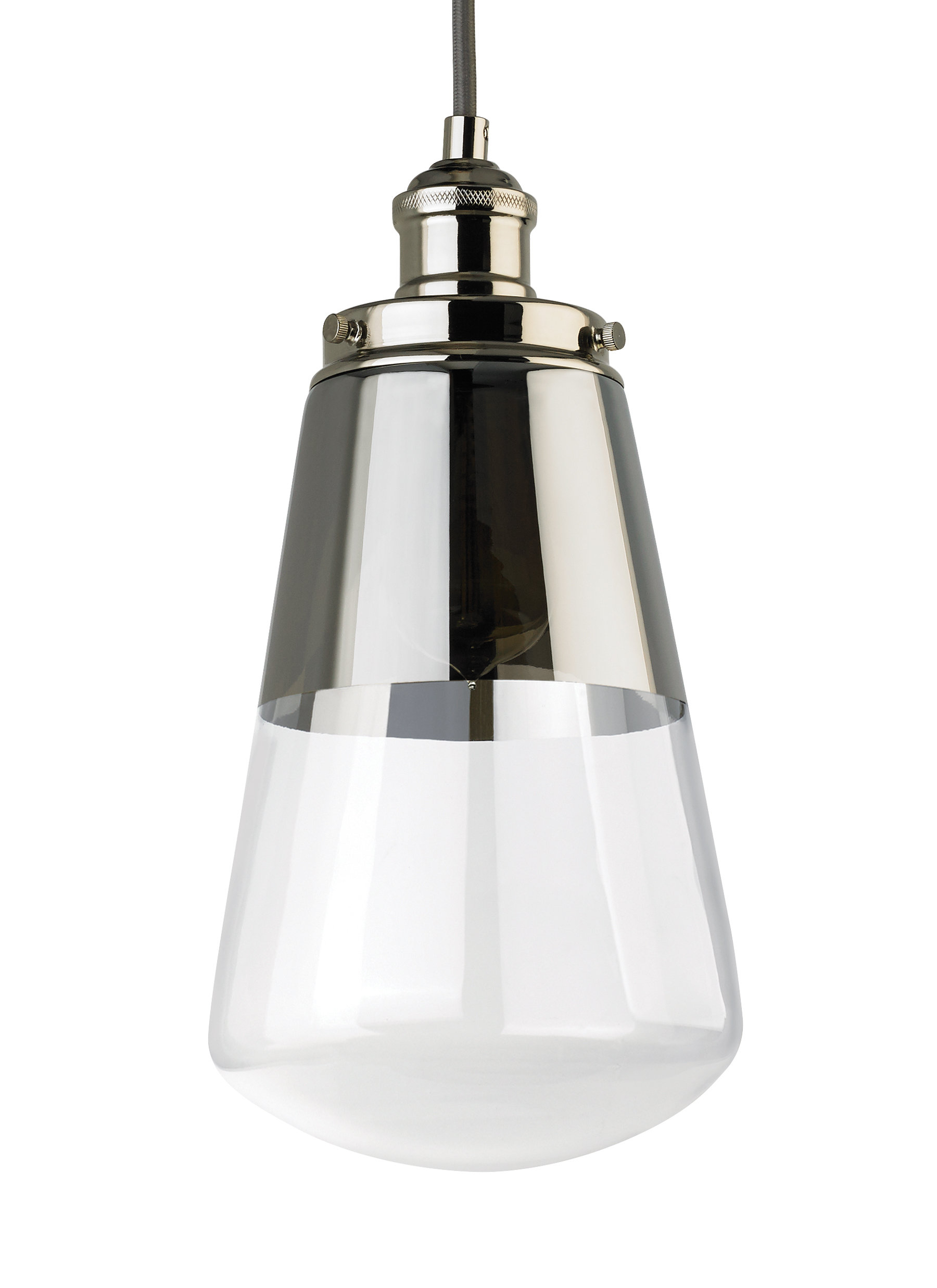 Jarne 1 Light Bulb Pendant Intended For Most Recently Released Ammerman 1 Light Cone Pendants (View 13 of 25)
