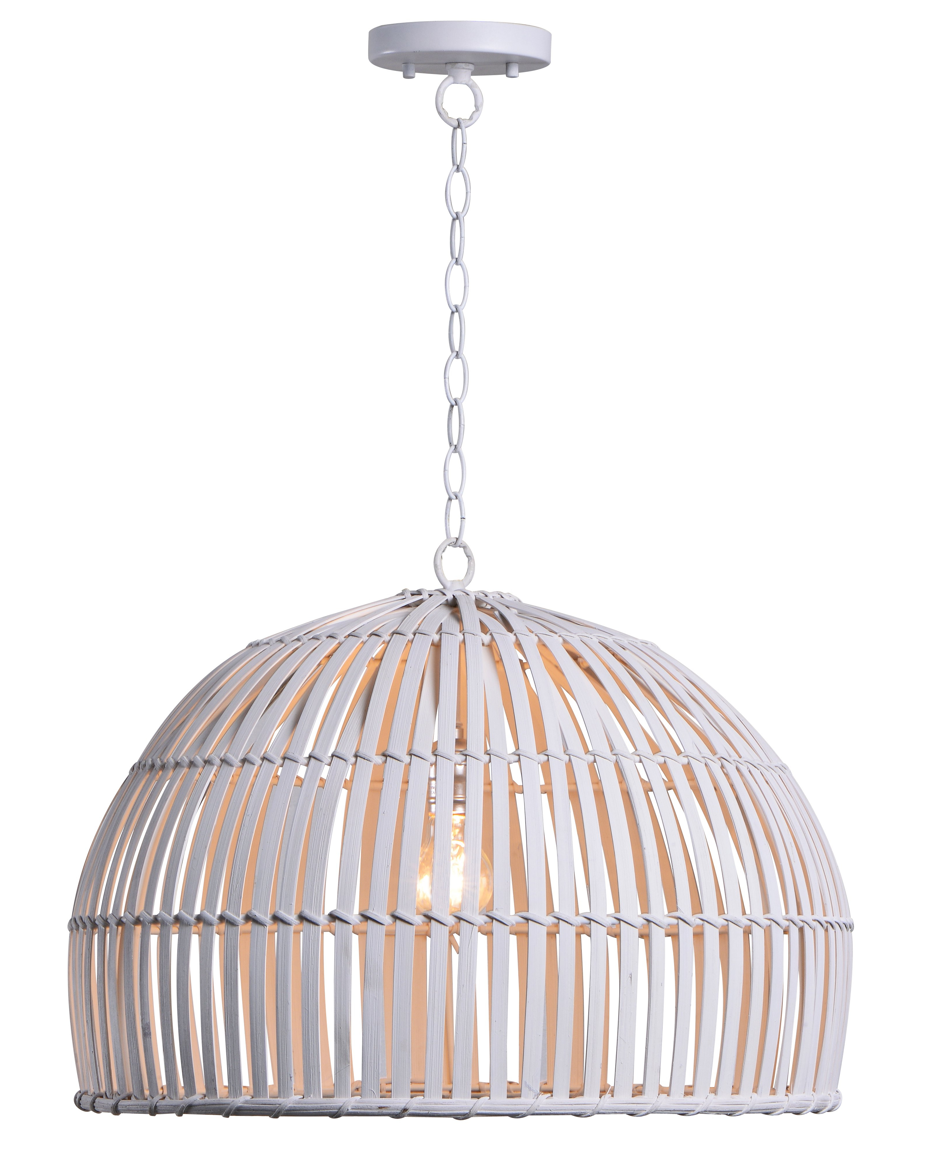 Joss & Main With Regard To Granville 3 Light Single Dome Pendants (View 9 of 25)