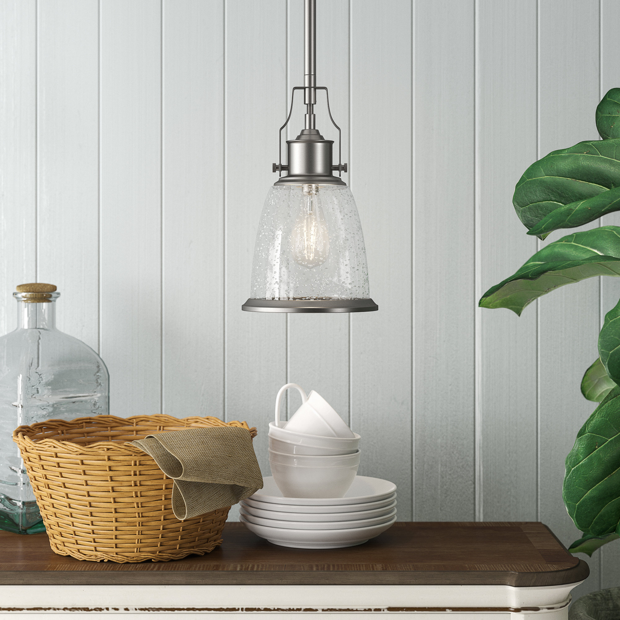 Kathi 1-Light Cone Pendant within 2019 Devereaux 1-Light Single Globe Pendants