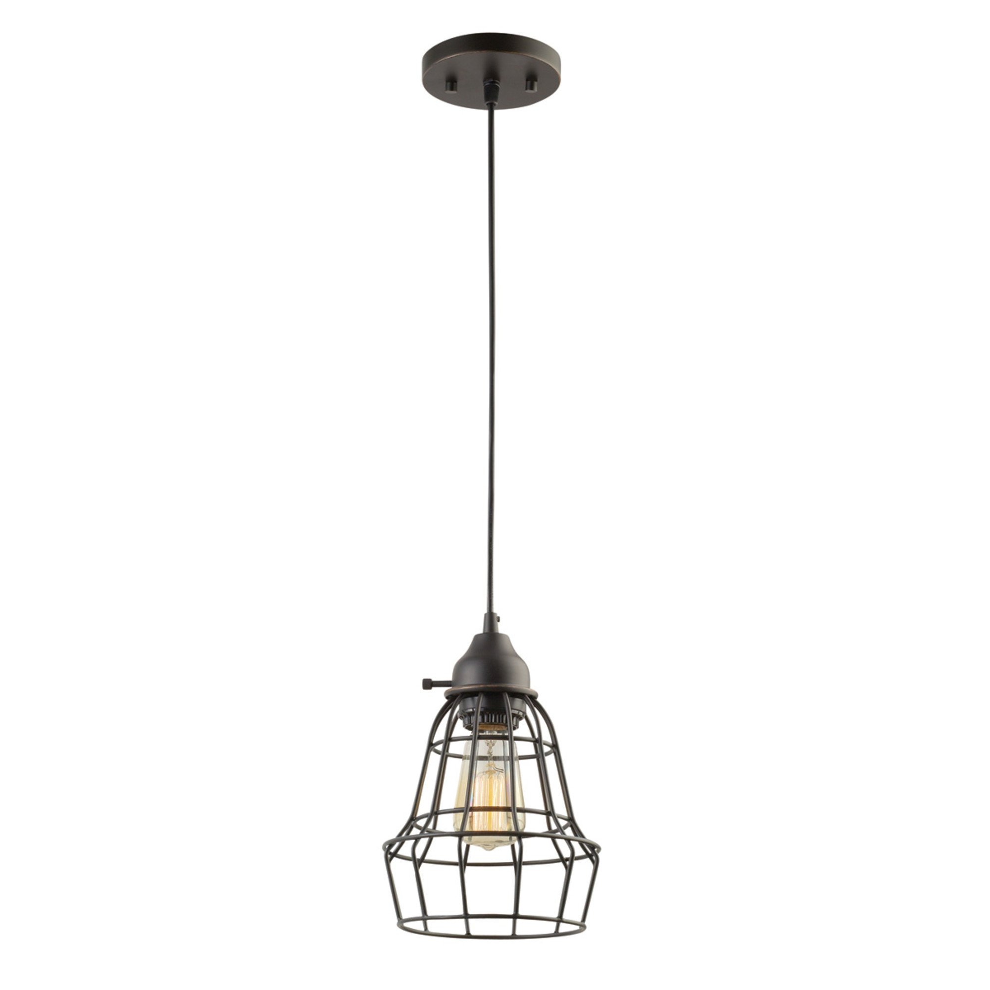 Kathi 1-Light Lantern Pendant with regard to Well known Vintage Edison 1-Light Bowl Pendants