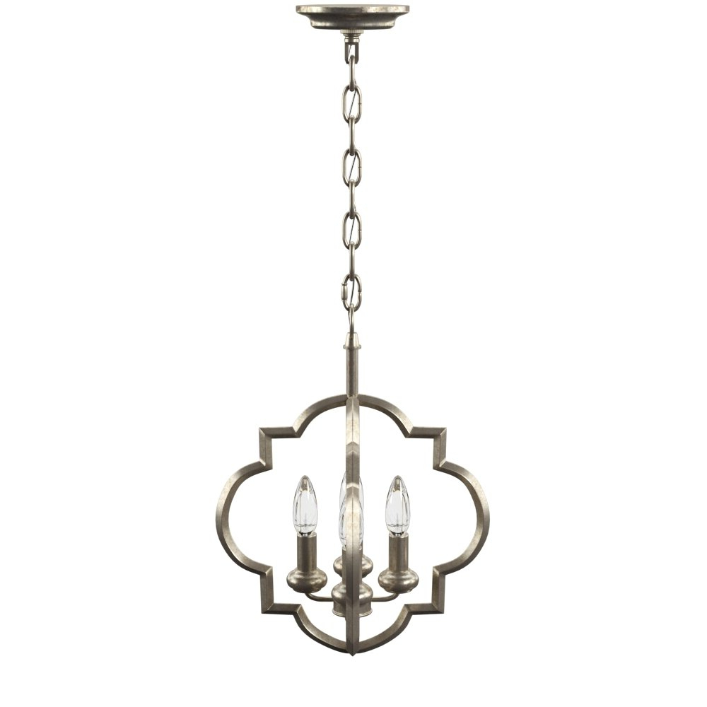 Kaycee 4 Light Geometric Chandeliers Within Best And Newest Hartley 4 Light Geometric Pendant (View 17 of 25)