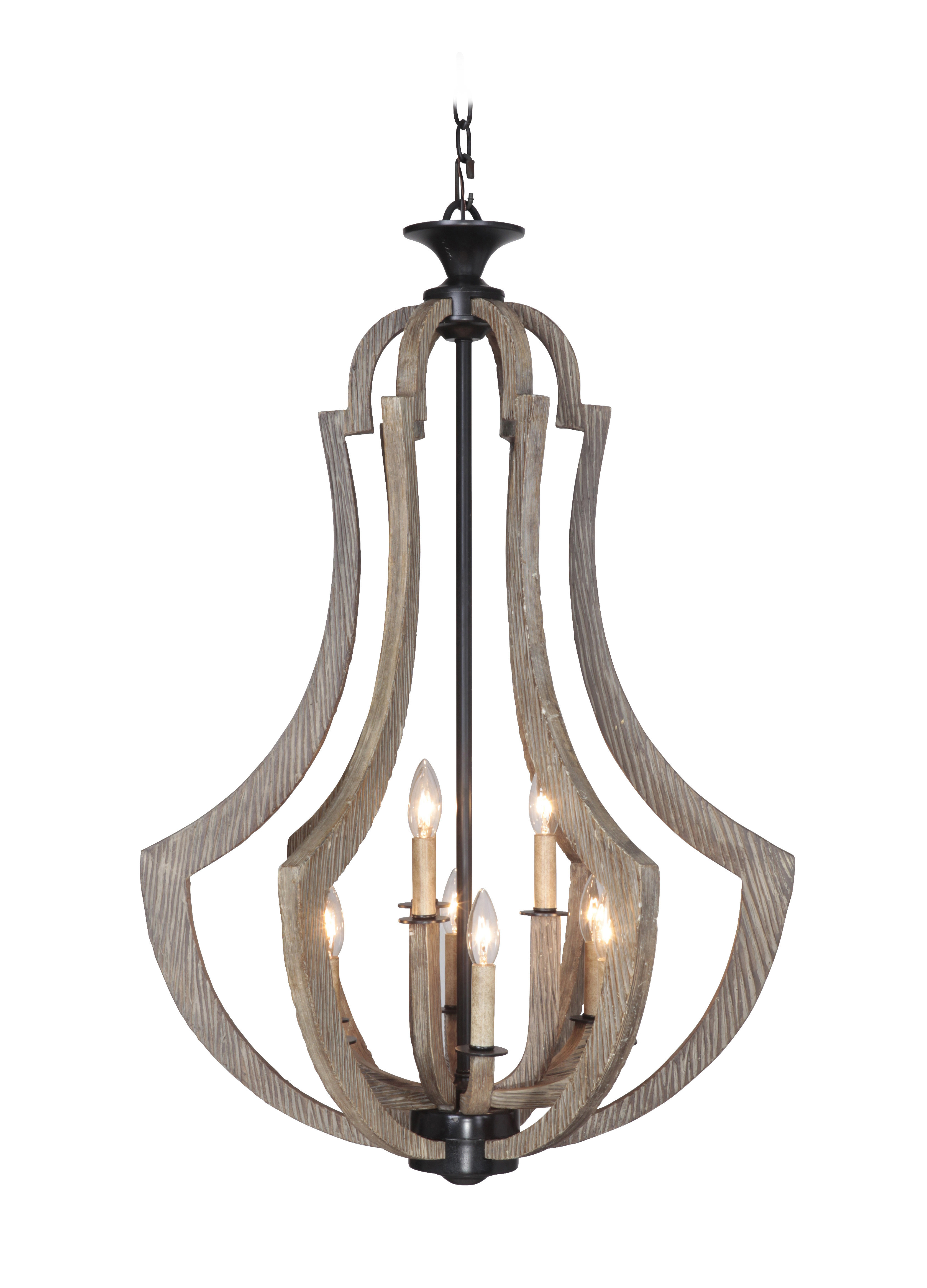 Kenna 5-Light Empire Chandeliers for Latest Radtke 9-Light Empire Chandelier
