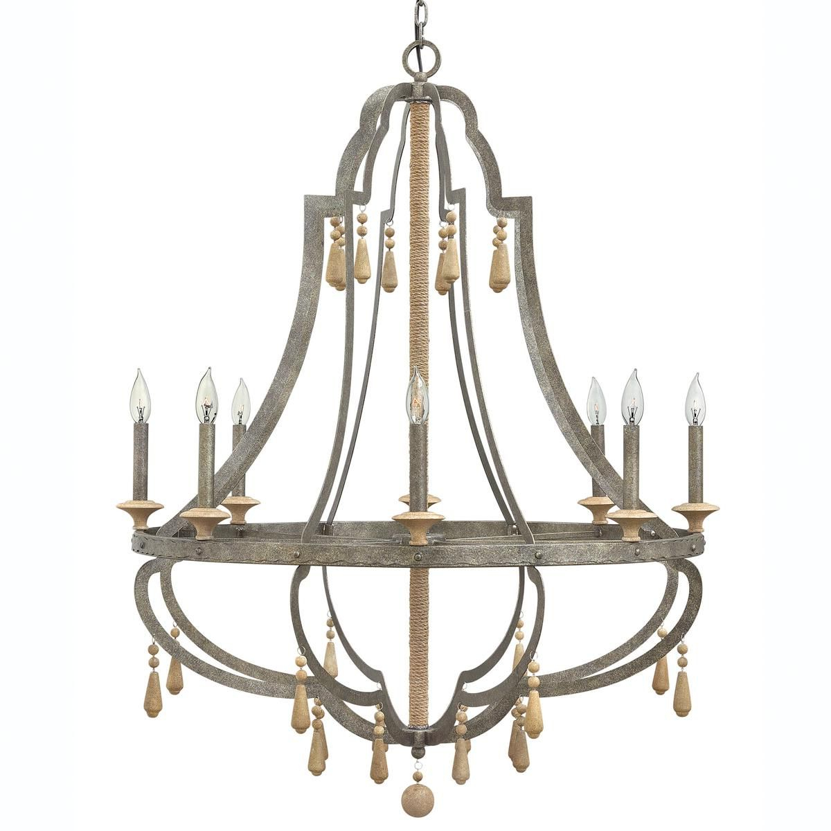 Kenna 5-Light Empire Chandeliers intended for Most Popular Bohemian Inspired Chandelier - Large