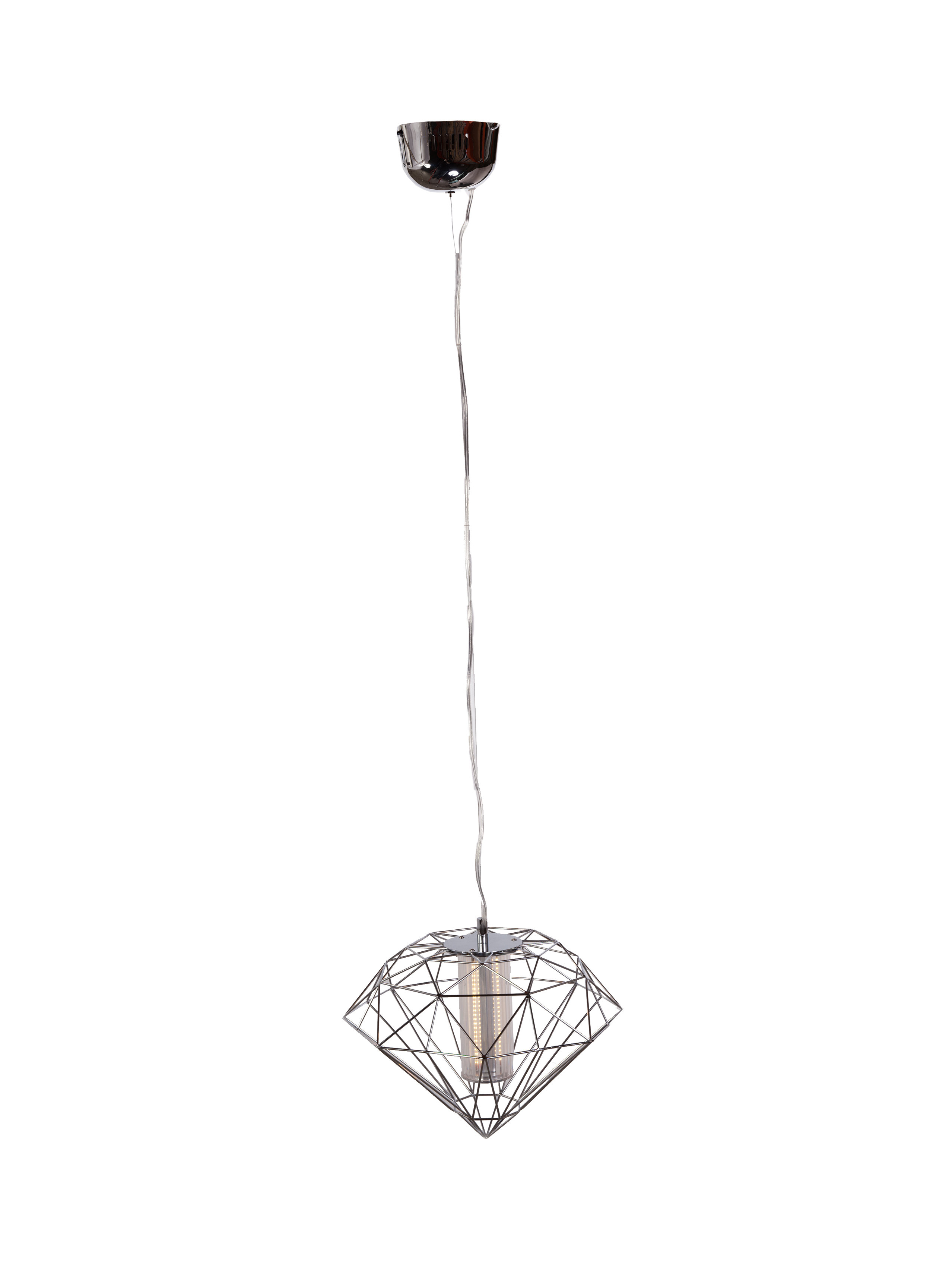 Kiefer 1 Light Led Geometric Pendant With Well Known Hydetown 1 Light Single Geometric Pendants (View 15 of 25)