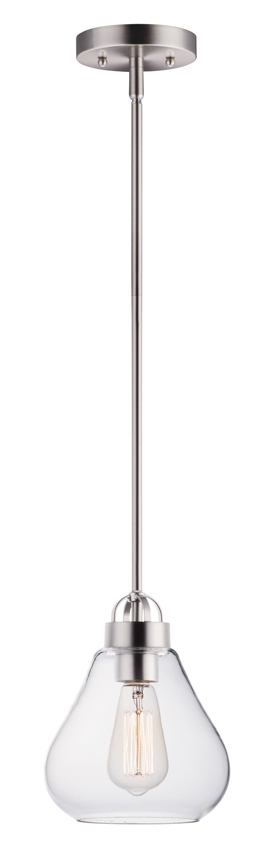 Kimsey 1 Light Teardrop Pendants Inside Most Up To Date Kimsey 1 Light Teardrop Pendant (Gallery 2 of 25)