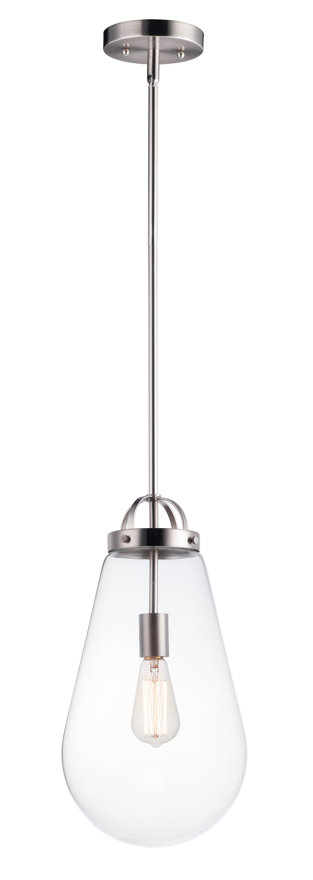 Kimsey 1-Light Teardrop Pendants with regard to Recent Kinbrae 1-Light Teardrop Pendant